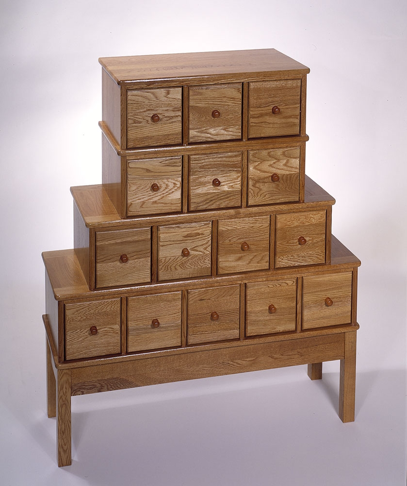 Apothecary Style Cd Storage Cabinet