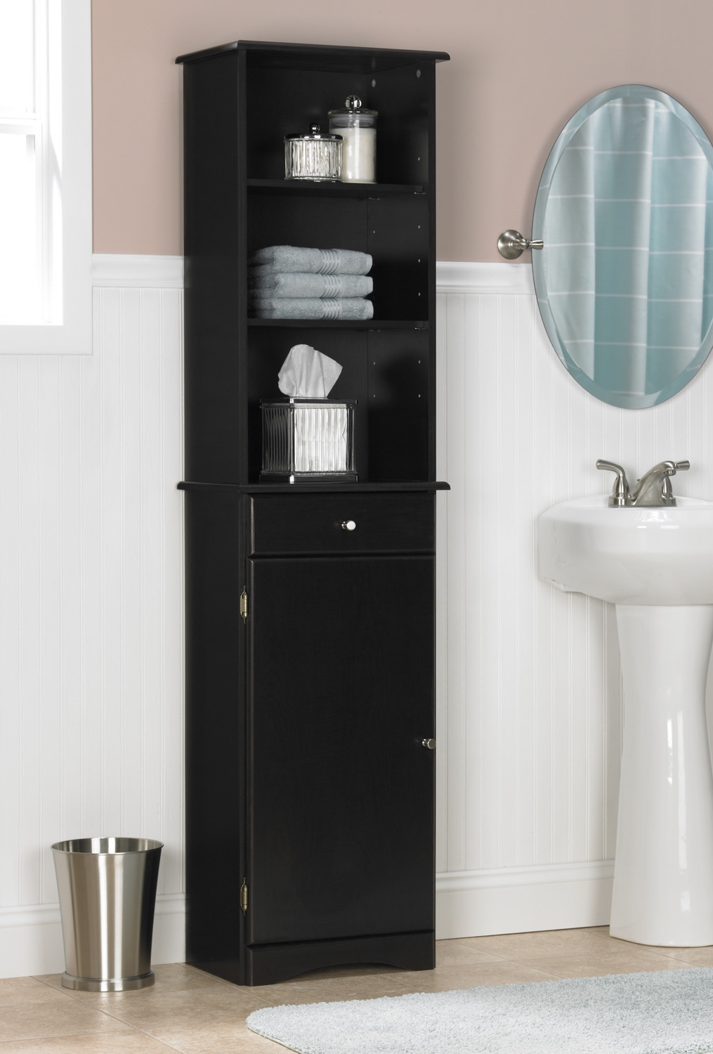 Bath Storage Cabinets With Shelves