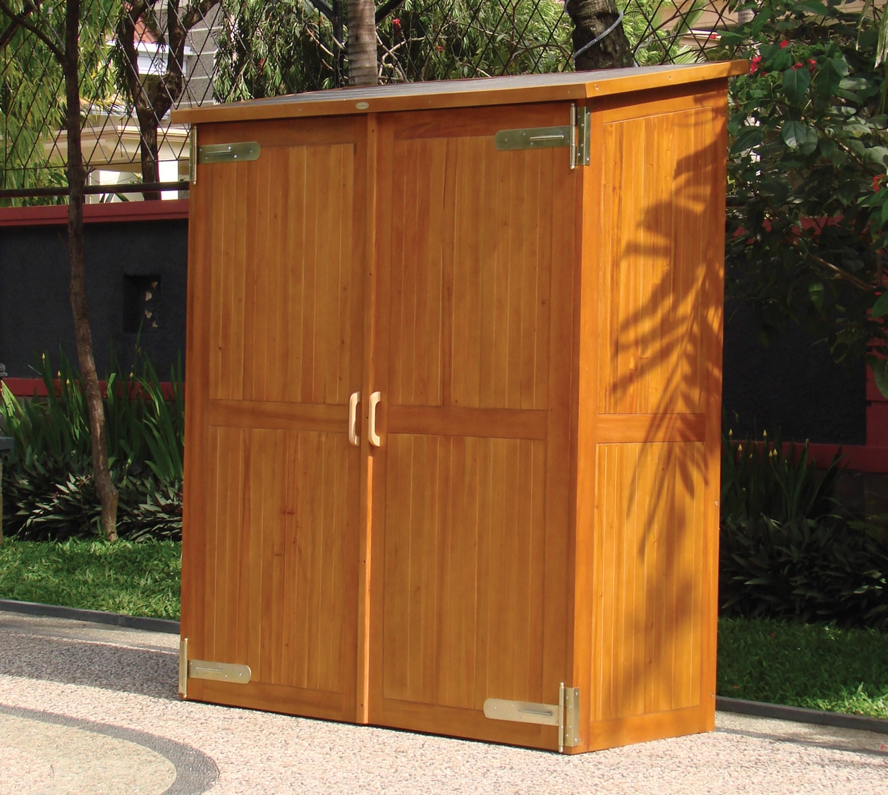 Patio Storage Cabinet Plans