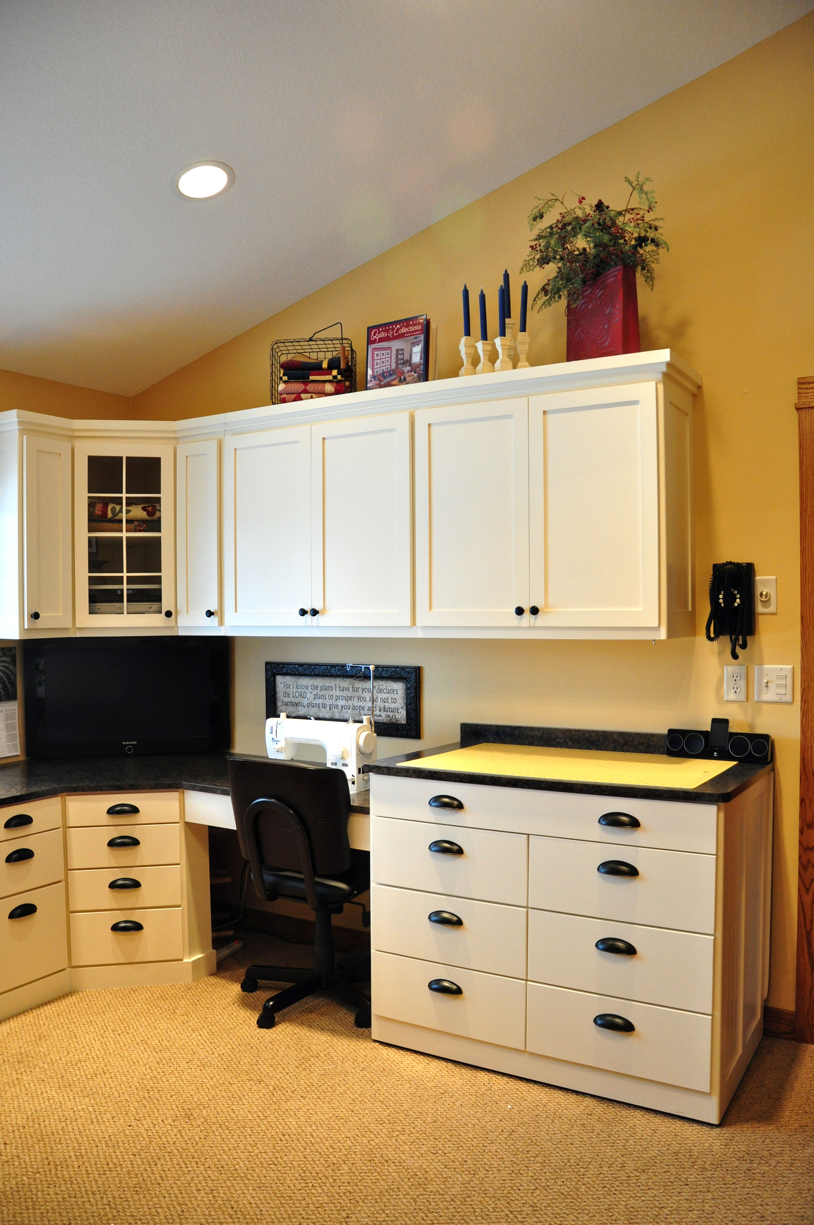 Sewing Storage Cabinets Plans