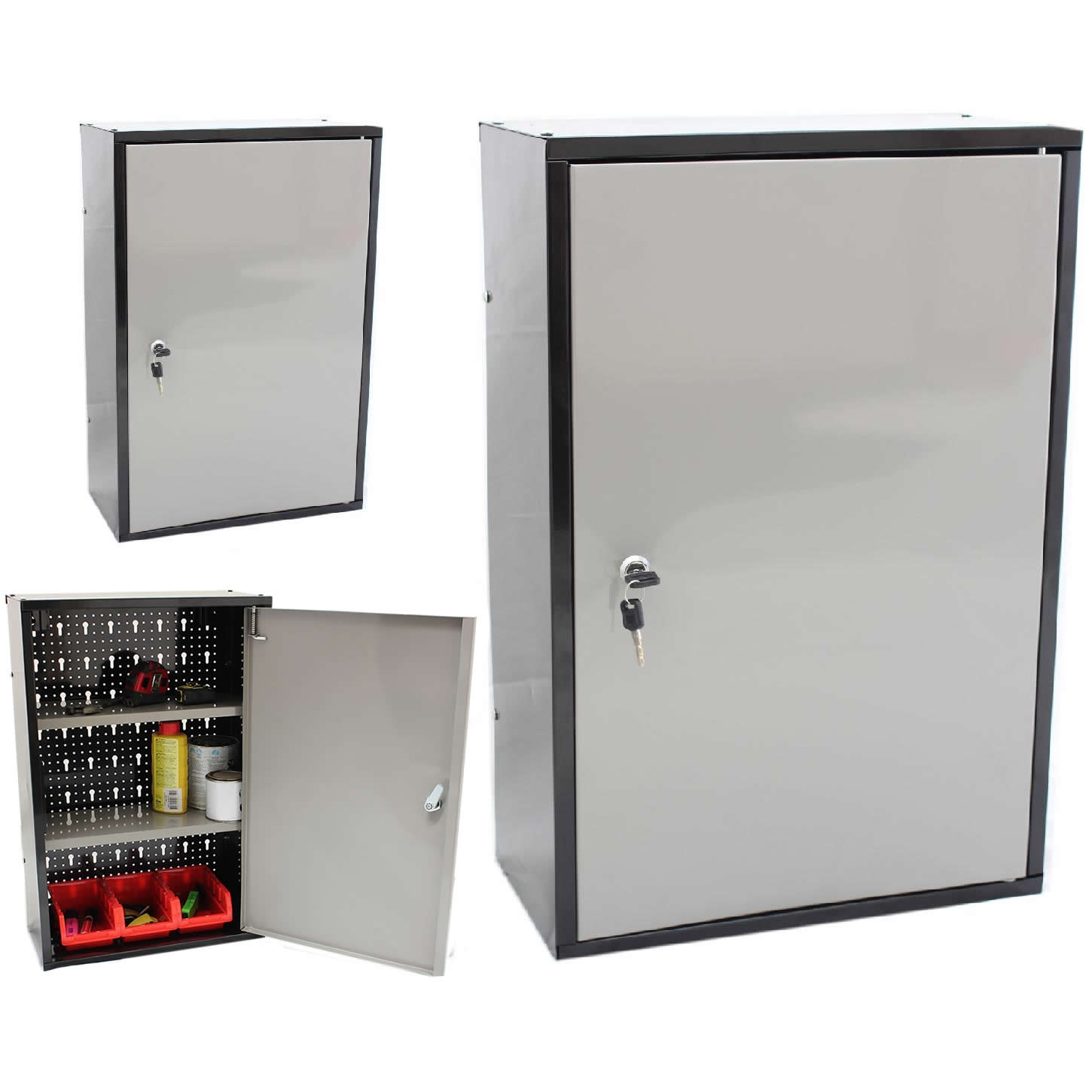 Single Door Lockable Storage Cabinet