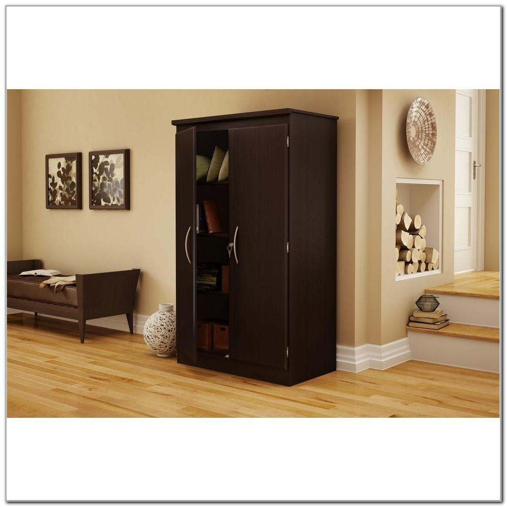 South Shore Storage Cabinet Chocolate