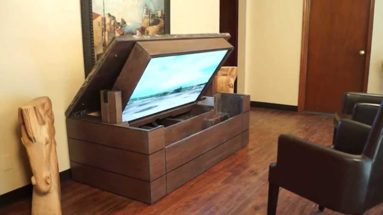 Tv Lift Cabinet With Storage