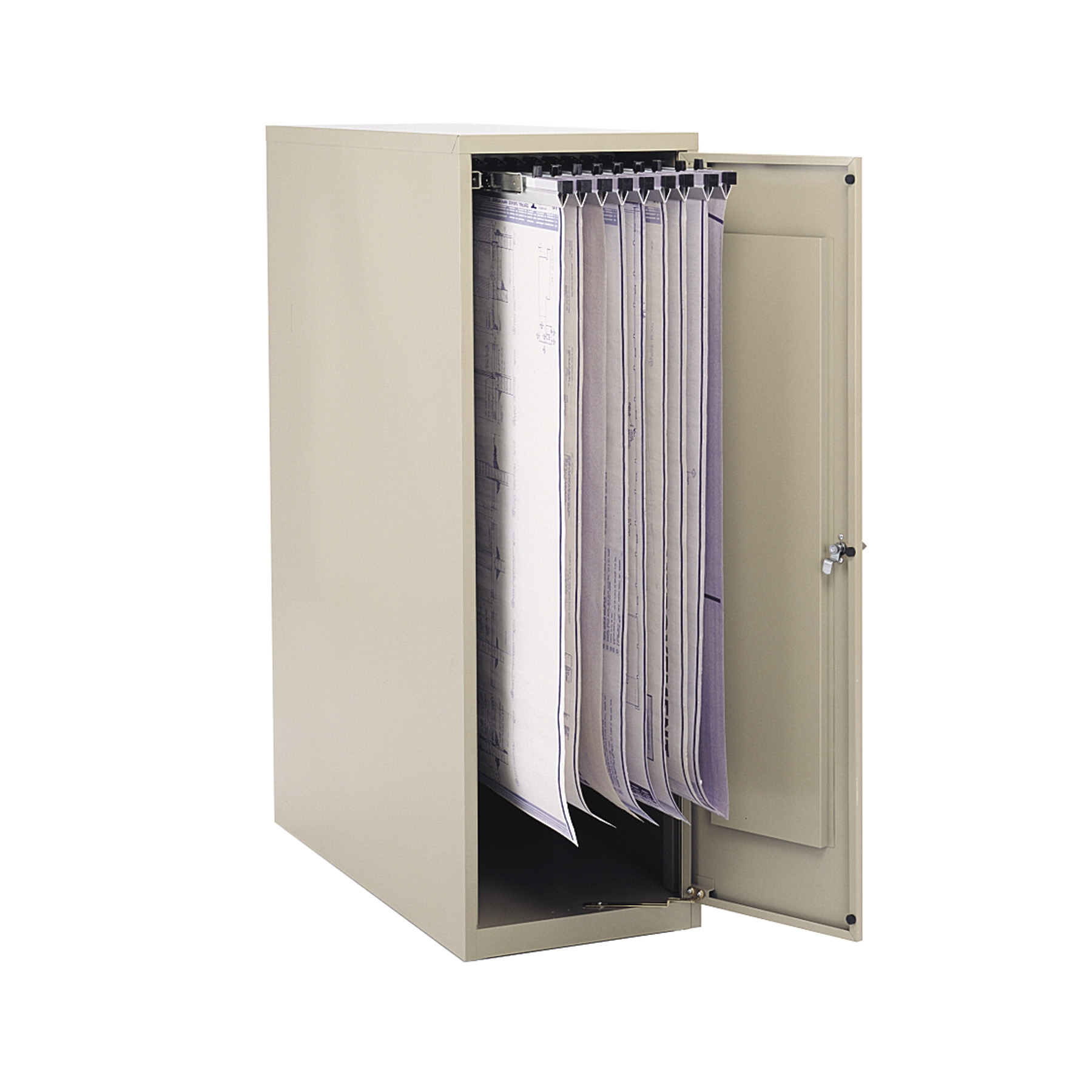 Vertical Drawing Storage Cabinet