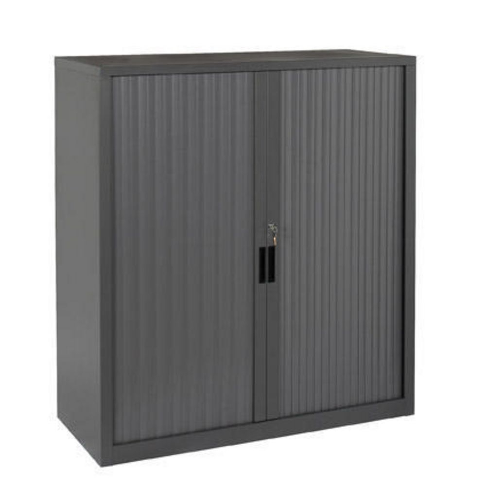 Binder Storage Tambour Door Cabinet