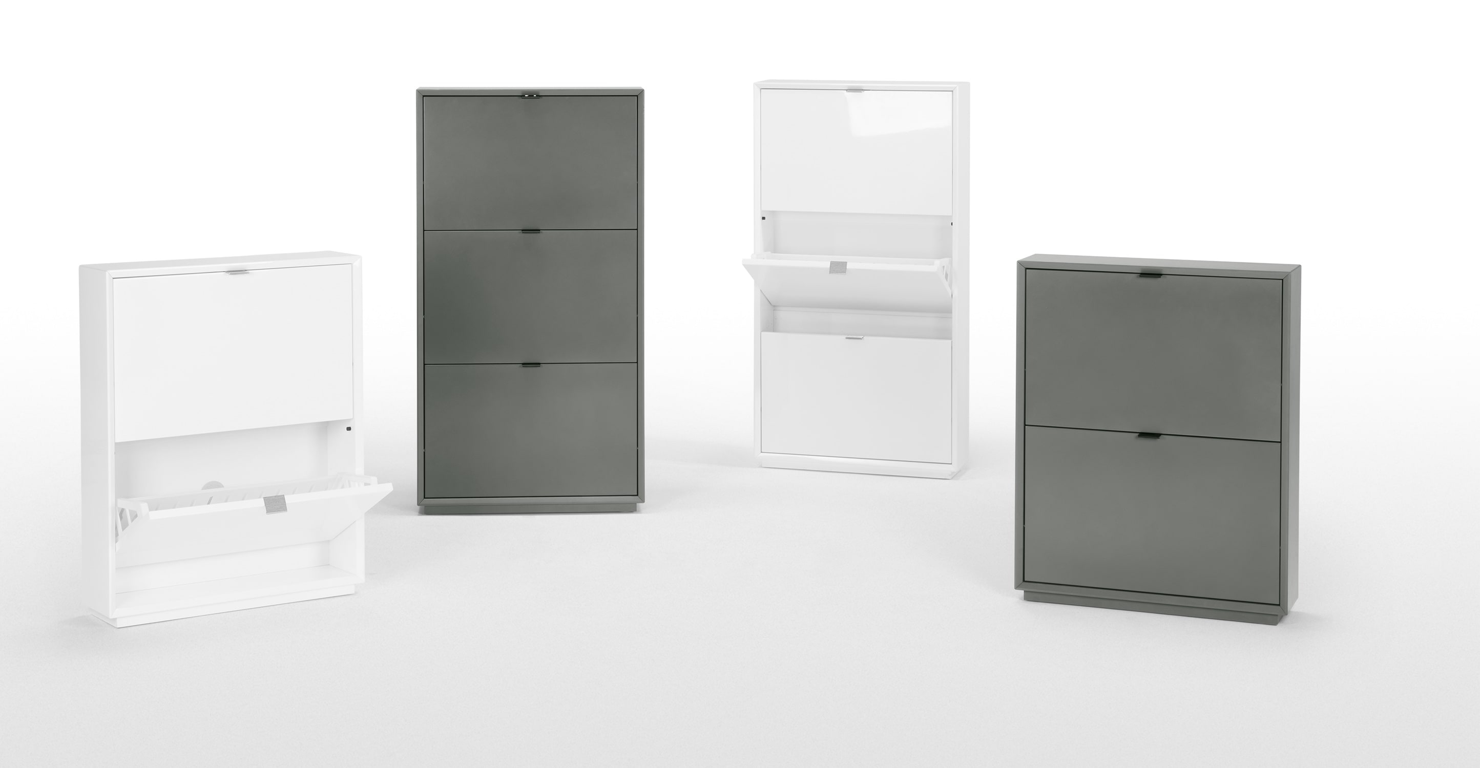 Shoe Storage Cabinet White