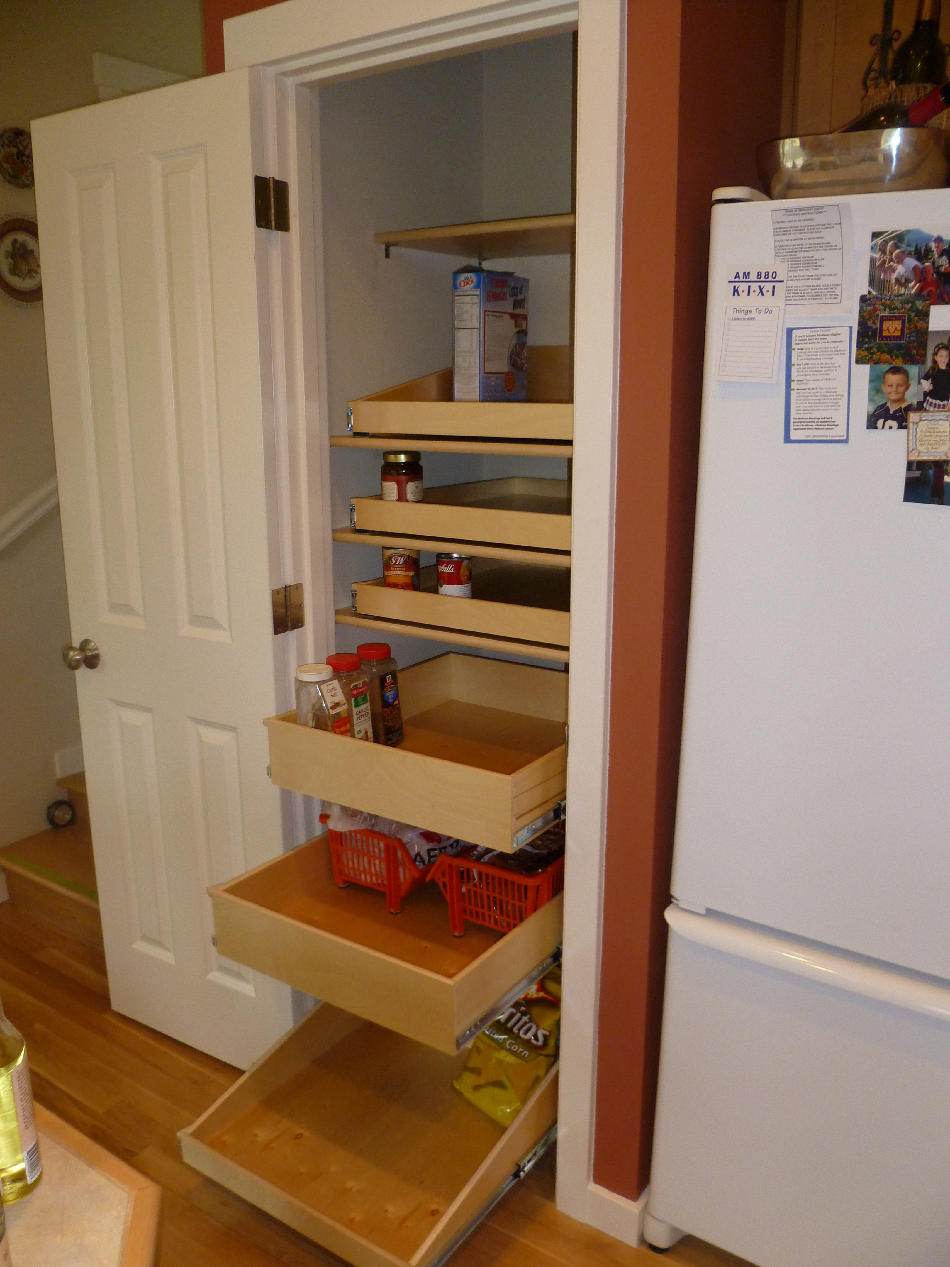 Sliding Storage Pantry Cabinet