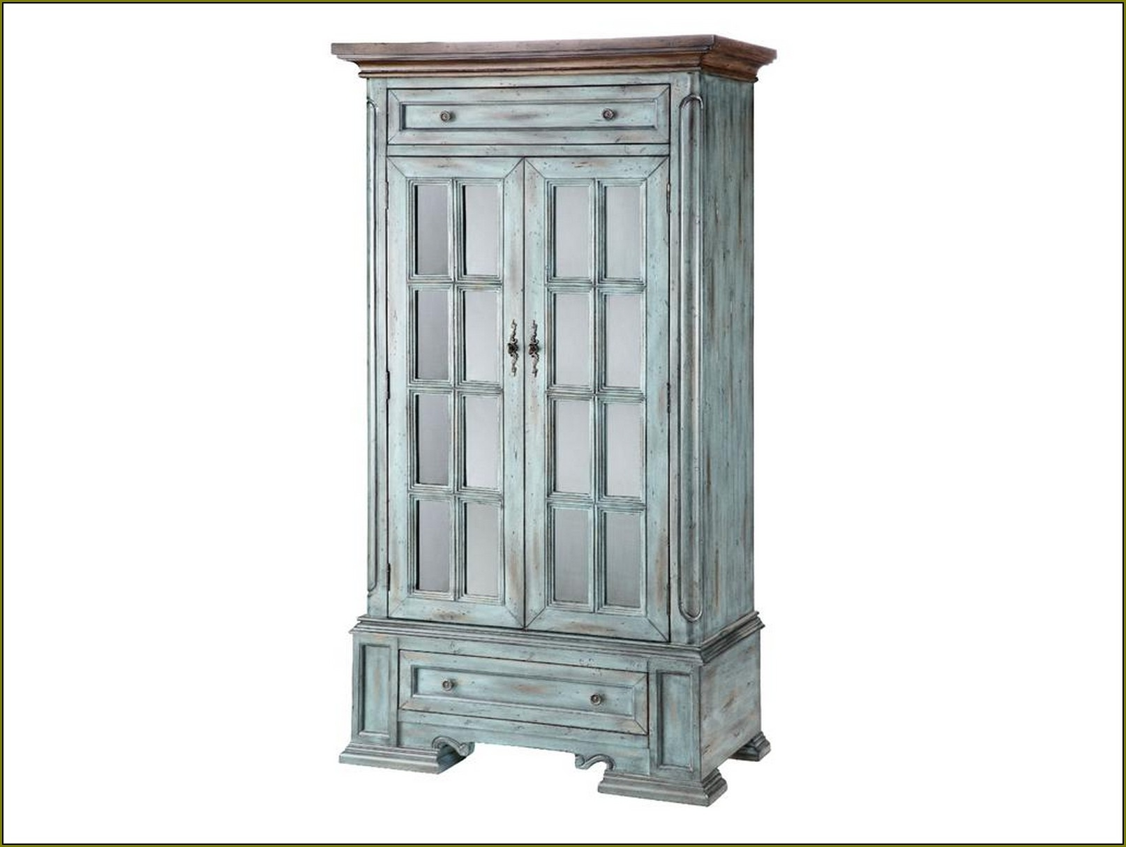 Tall Rustic Storage Cabinets
