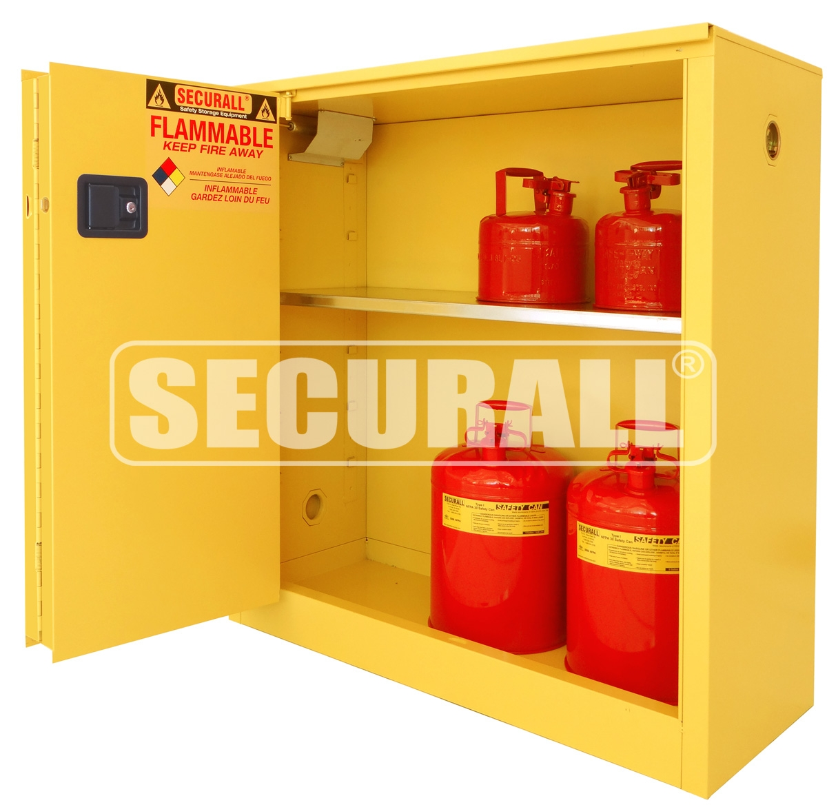 Temperature Controlled Flammable Storage Cabinetsecurall flammable storage flammable cabinet flammable storage