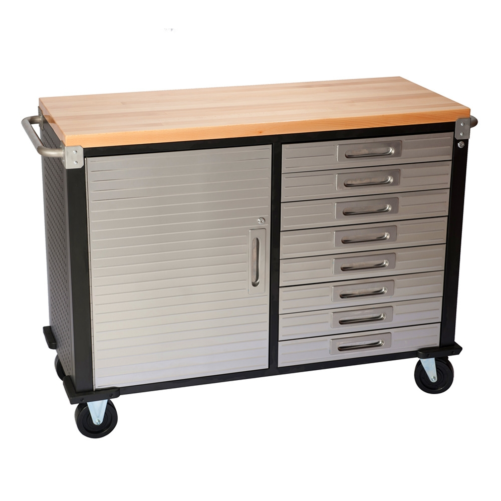 Ultra Hd Rolling Storage Cabinet With Drawers