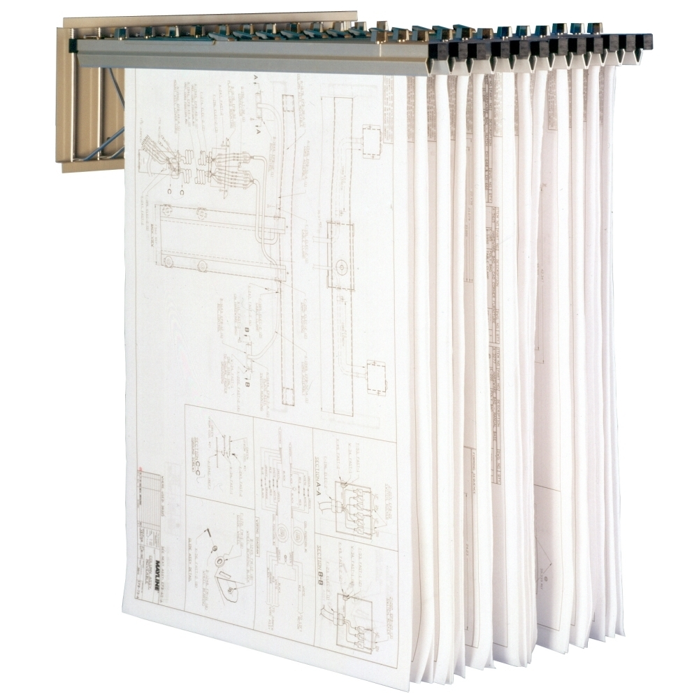 Vertical Map Storage Cabinets