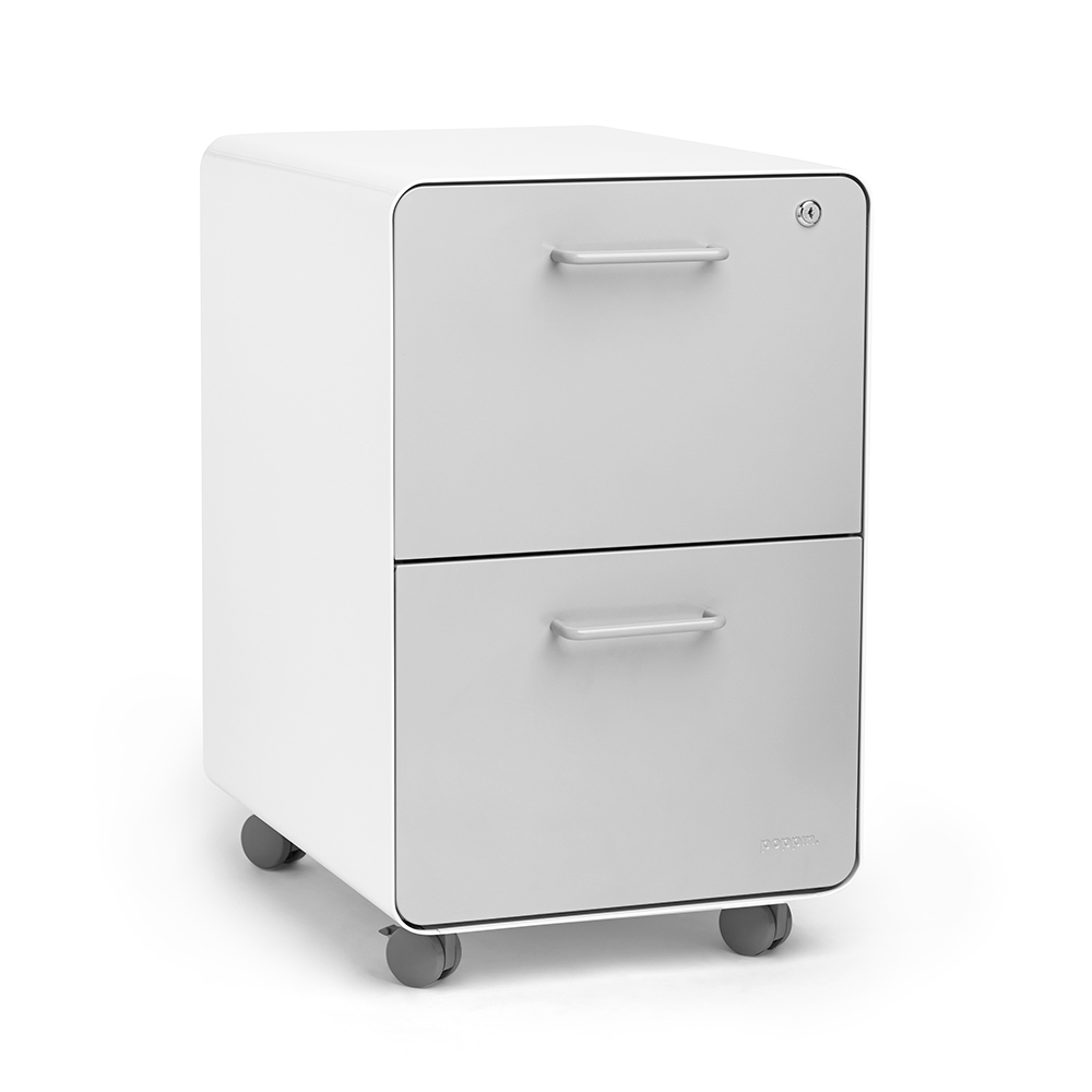2 Drawer File Cabinet With Storage Drawer