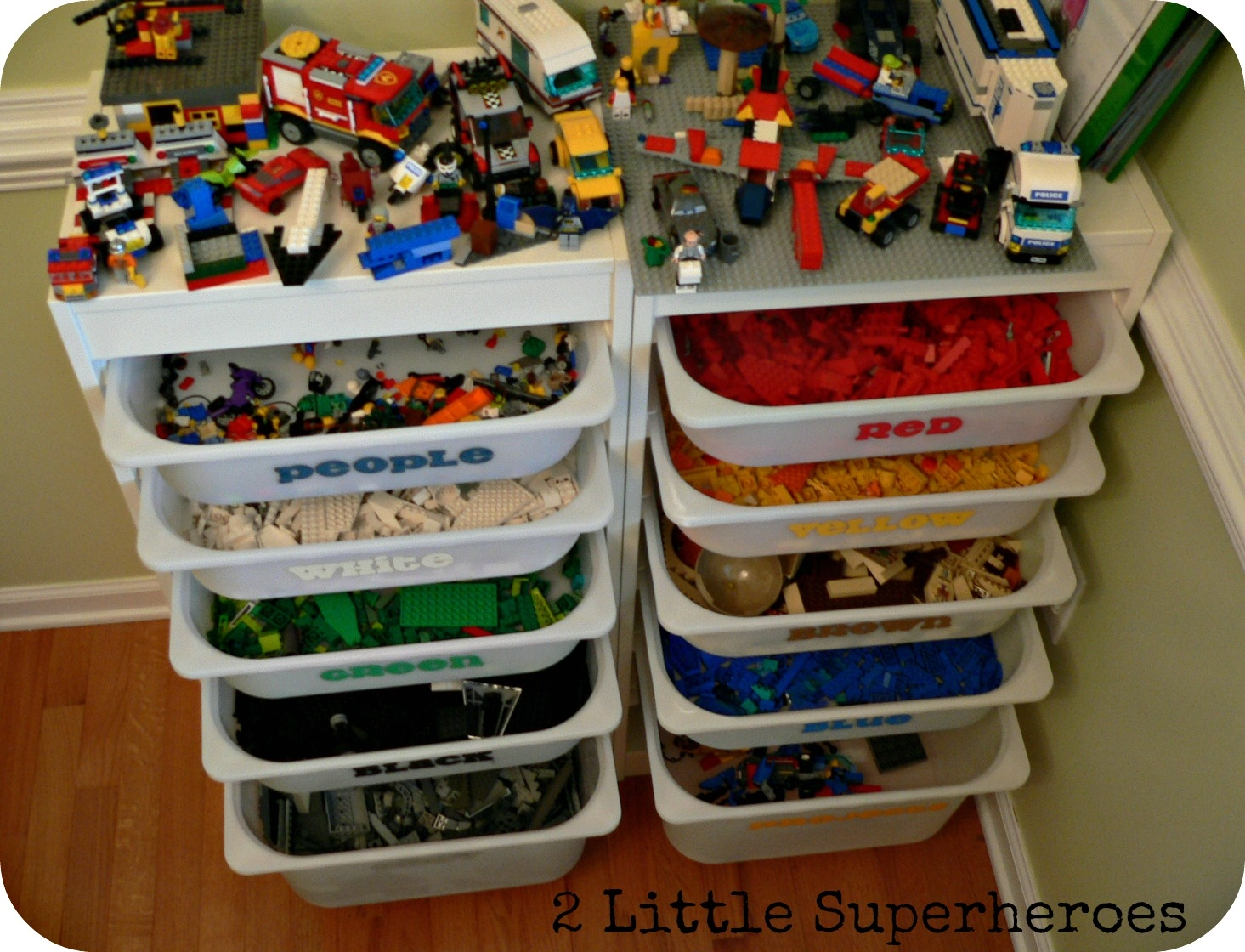 44 Drawer Lego Storage Cabinet