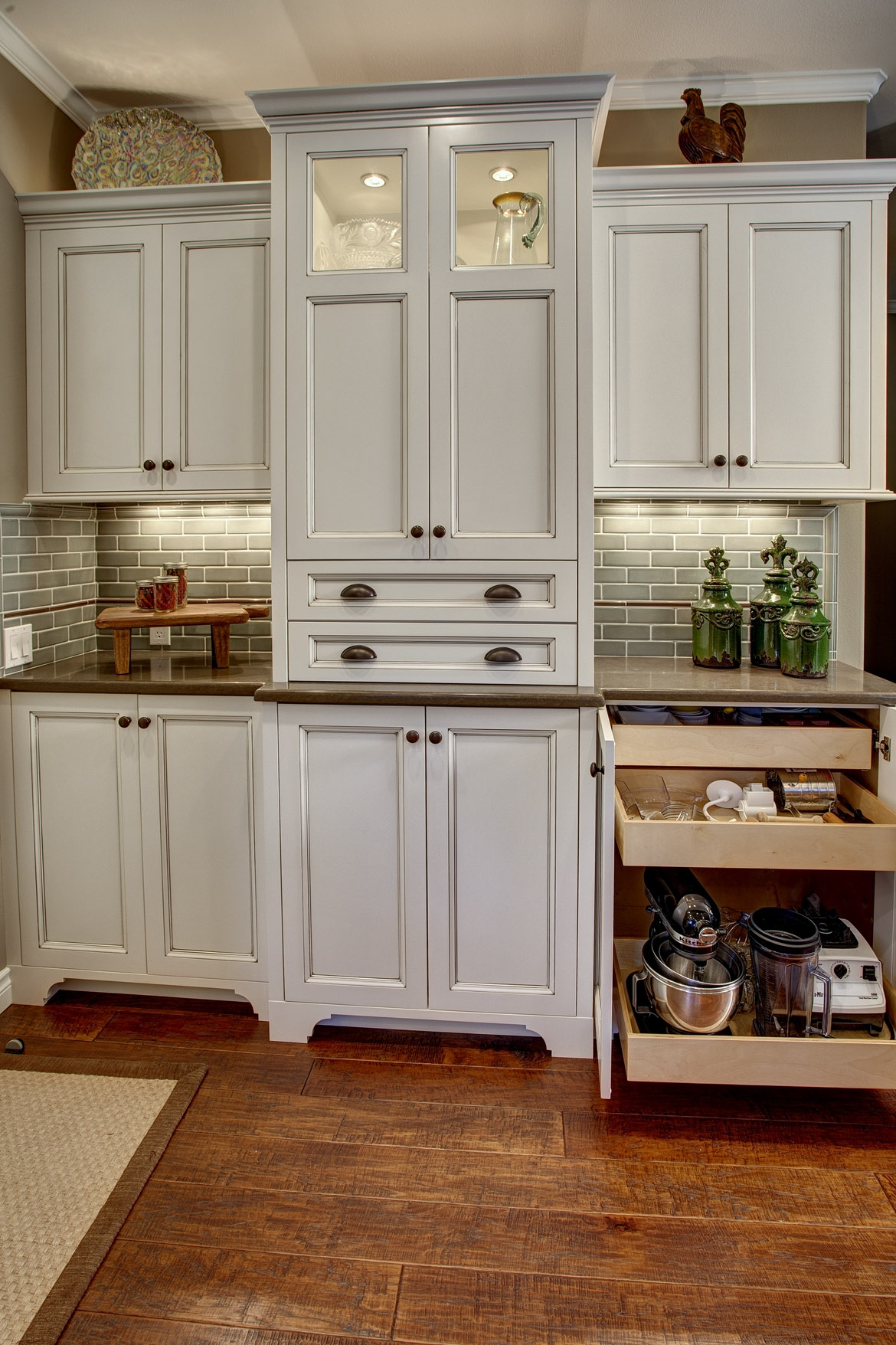 Add Storage To Top Of Kitchen Cabinets
