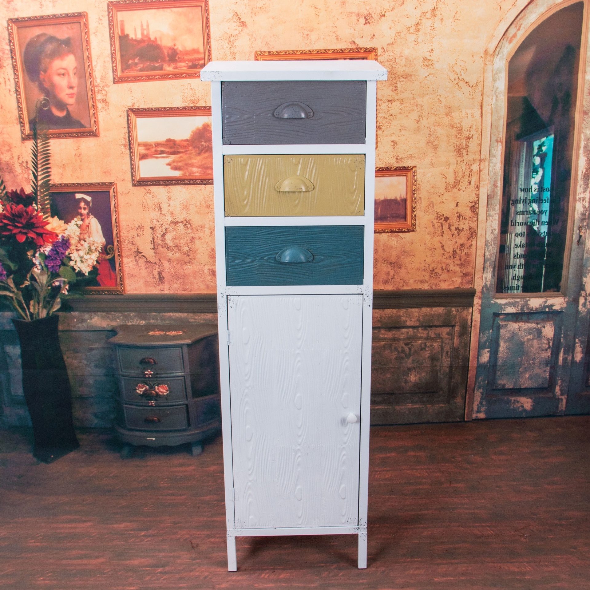 American Country Storage Cabinets