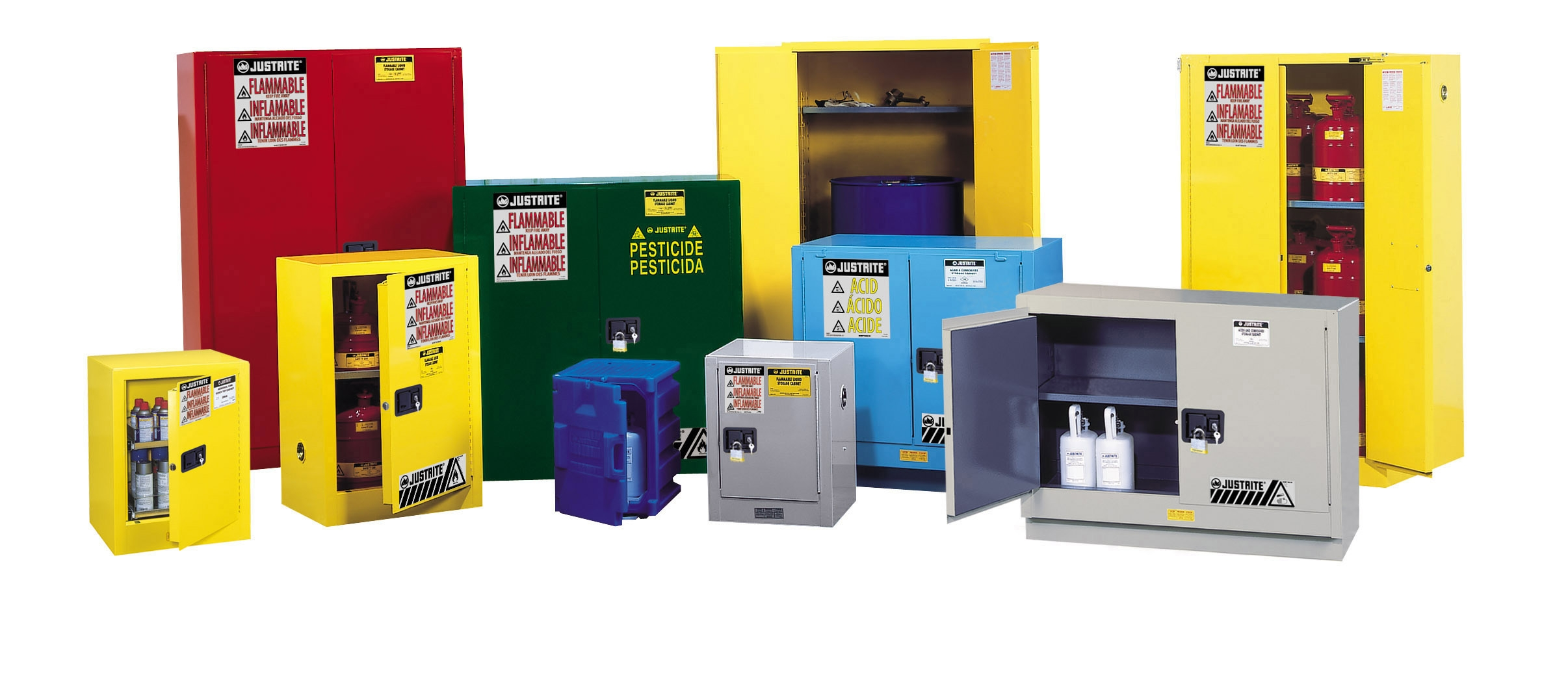 Fire Rated Oxygen Storage Cabinets