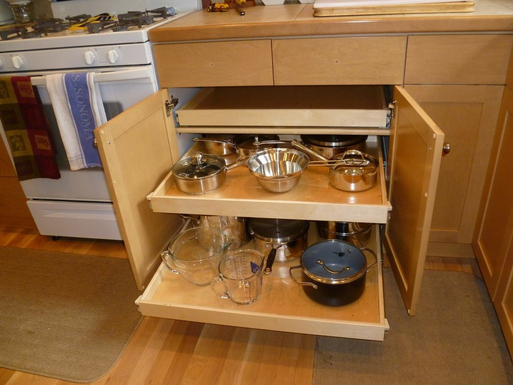 Kitchen Cabinet Storage Shelves