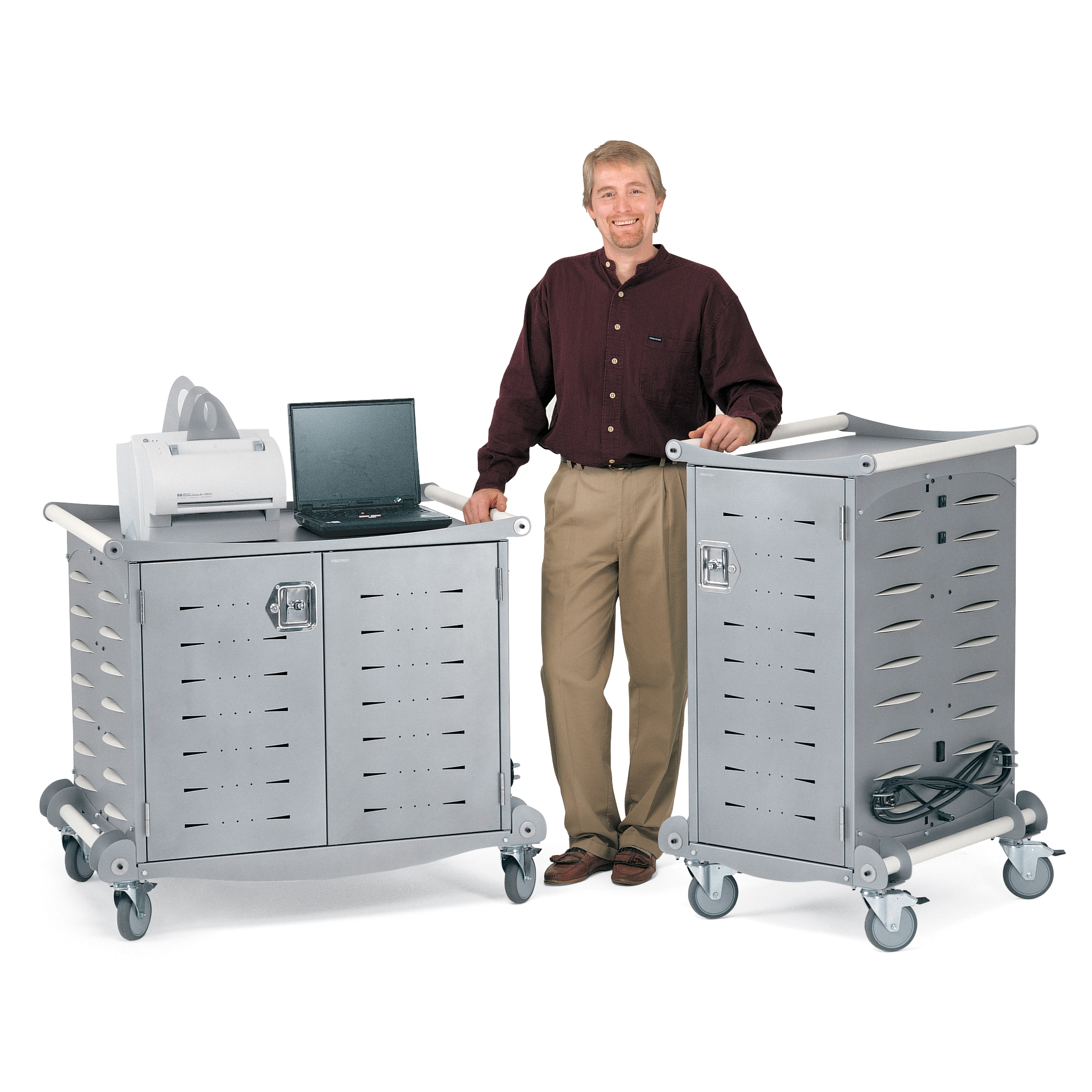 Laptop Storage Charging Cabinets