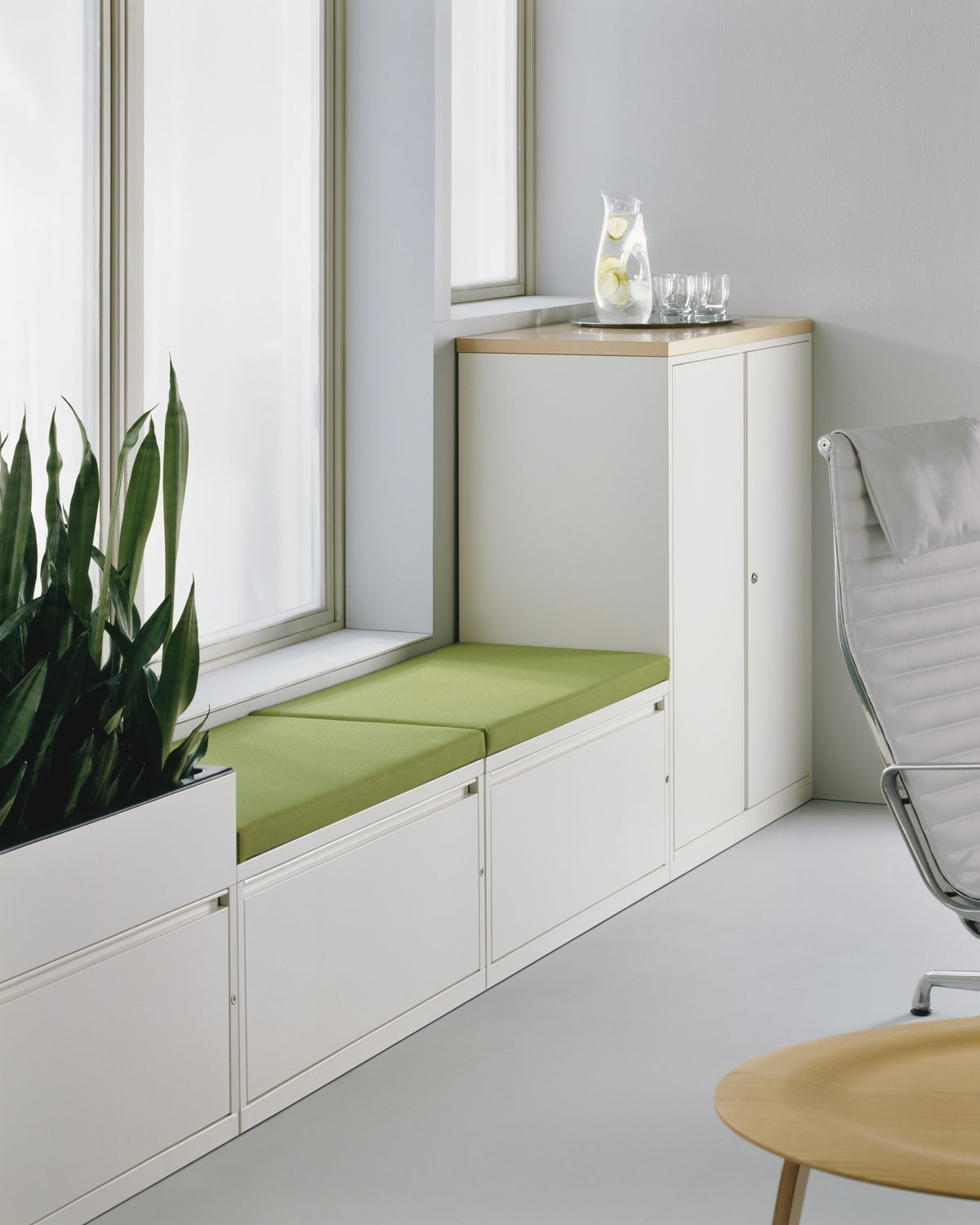 Meridian Stackable Storage Cabinets
