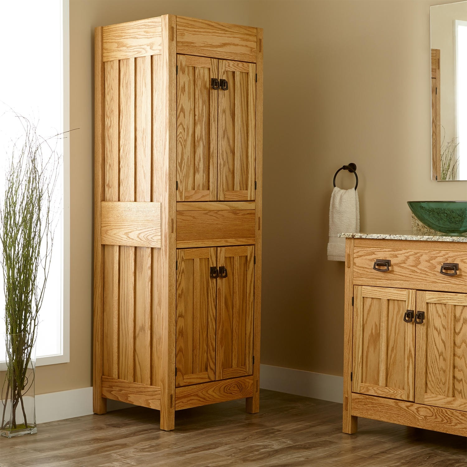 Mission Style Storage Cabinets