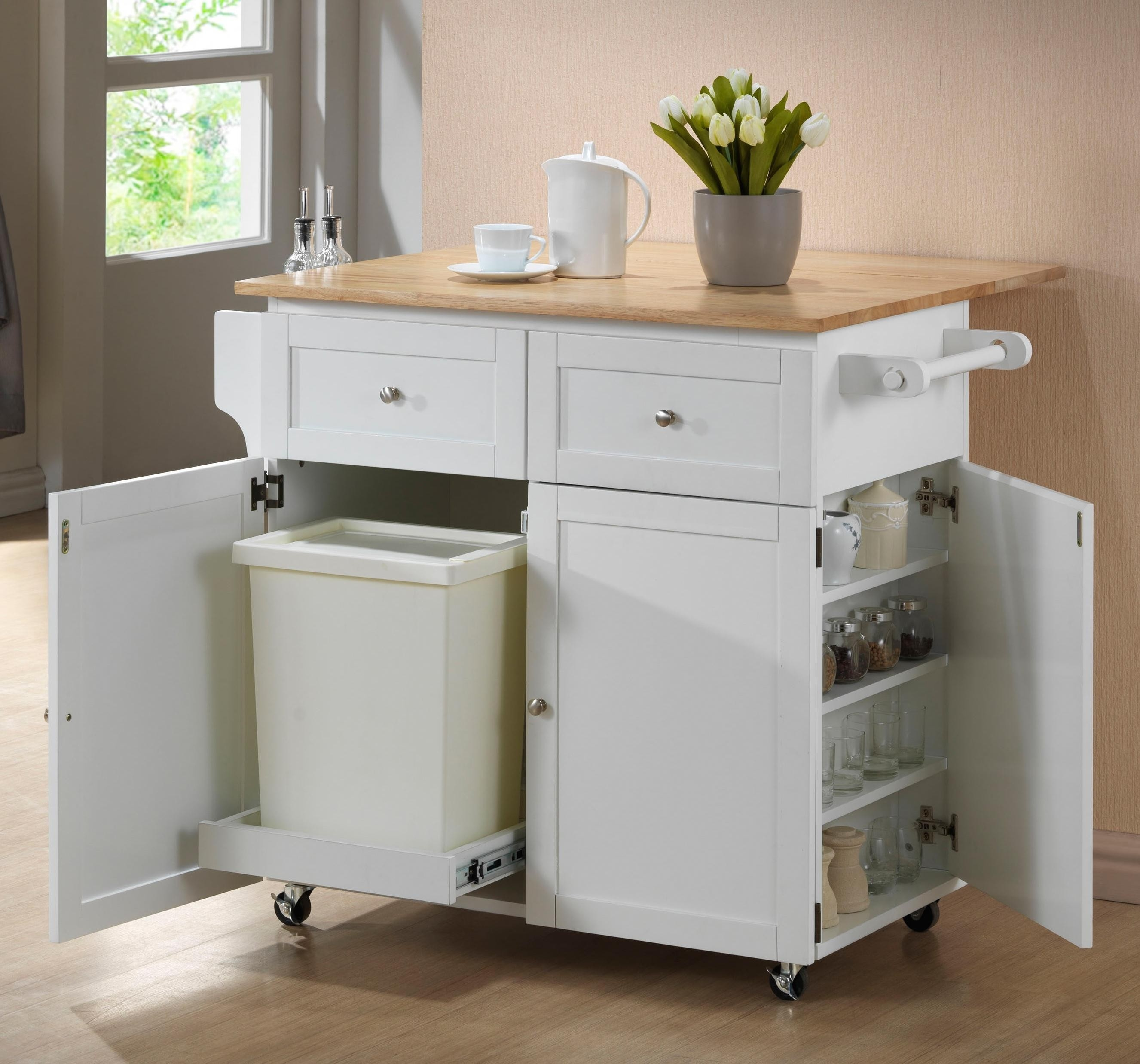 Mobile Kitchen Storage Cabinets