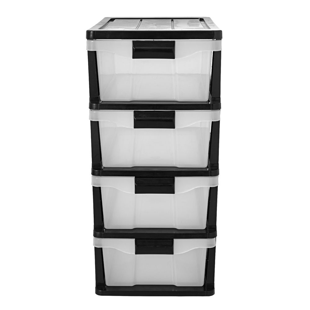 Simply 4 Drawer Storage Cabinet