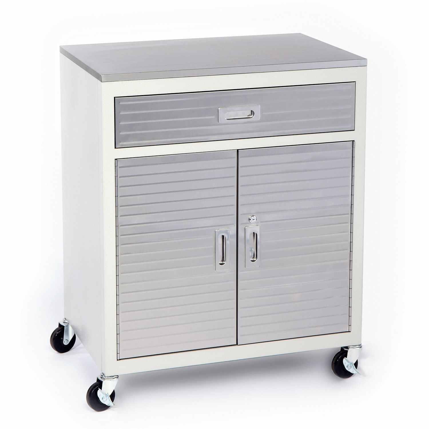 Storage Cabinet With Drawers On Wheels