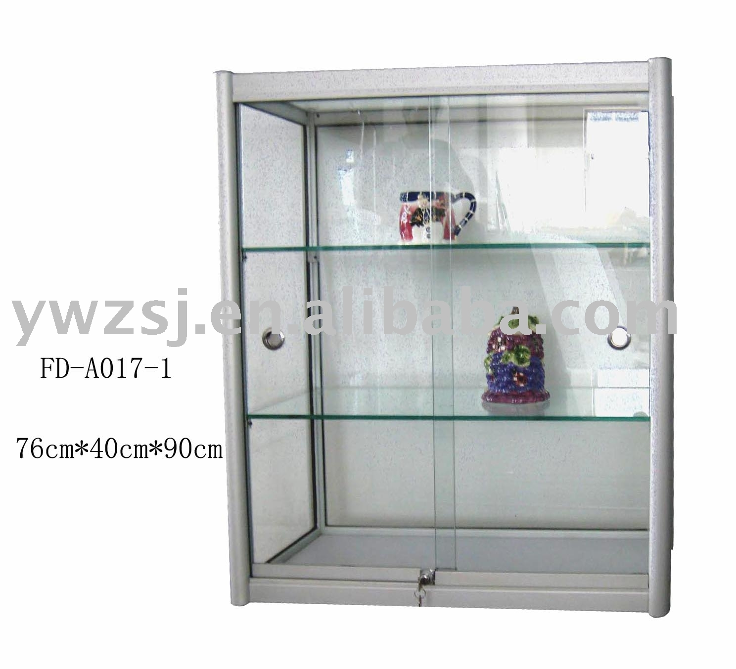 Storage Cabinet With Sliding Glass Doors