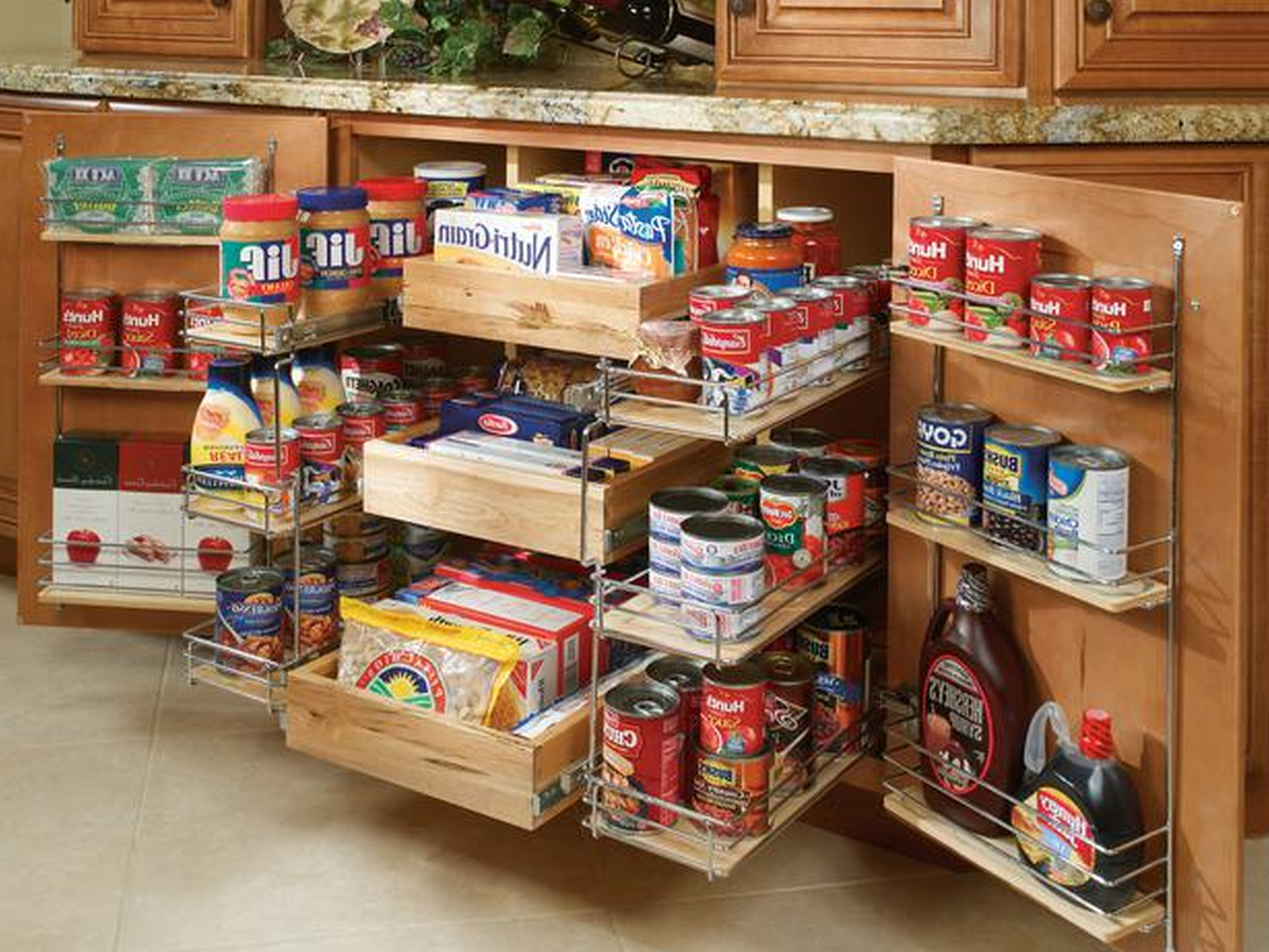 Storage Ideas For Small Kitchen Cabinets
