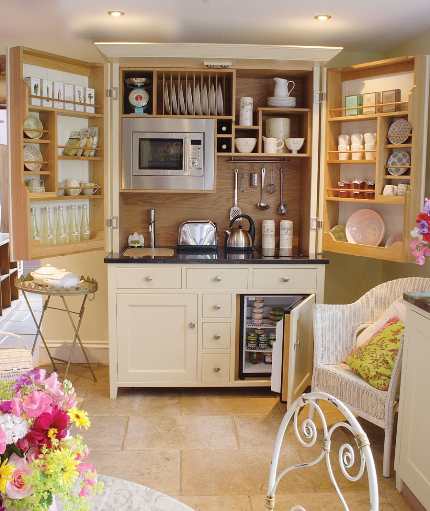Under Kitchen Wall Cabinet Storage