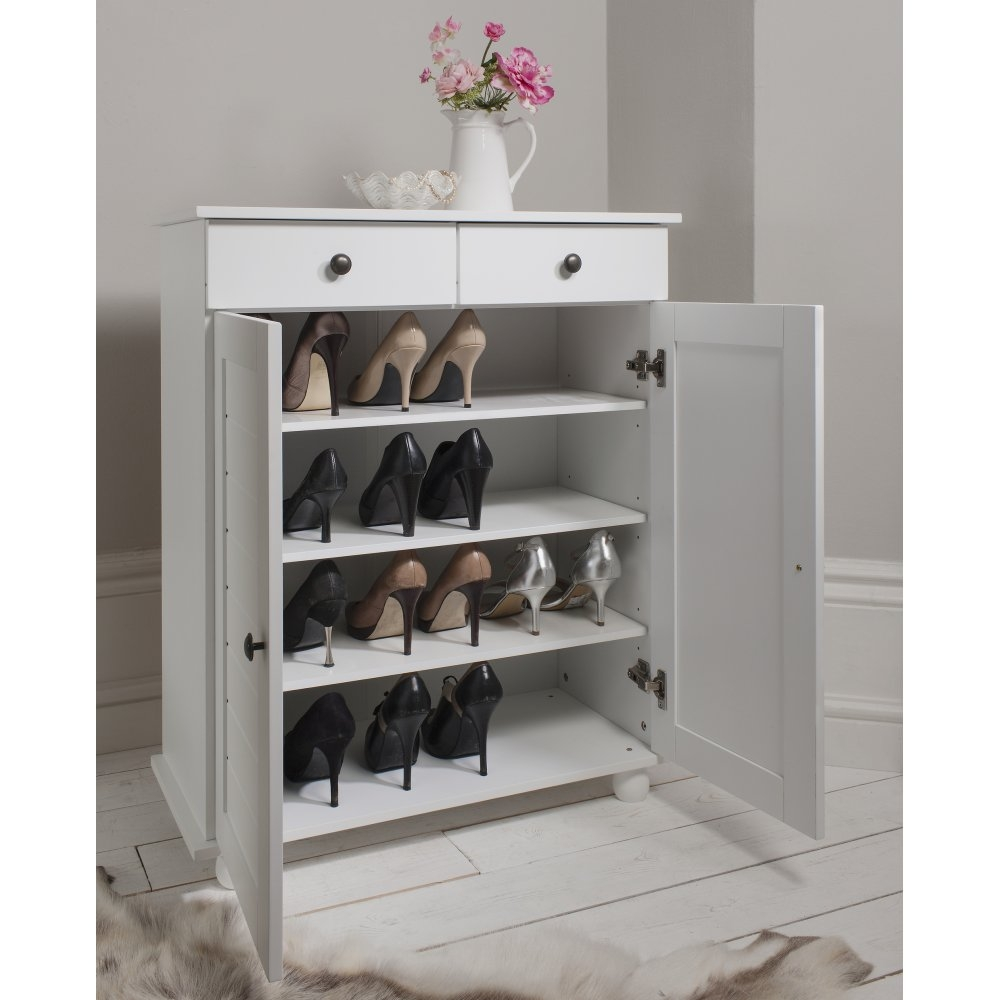 Venetia Tall Shoe Storage Cabinet
