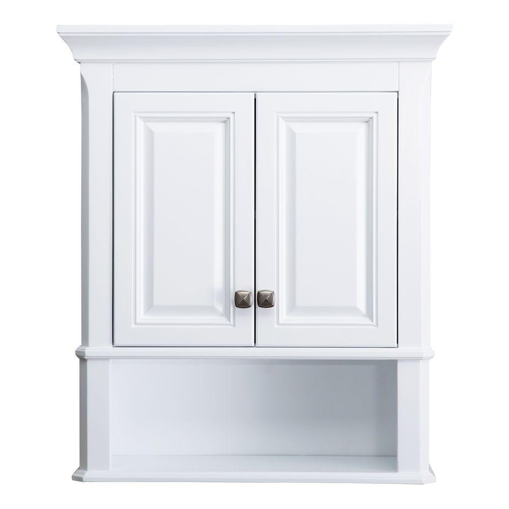 Bathroom Wall Storage Cabinets White