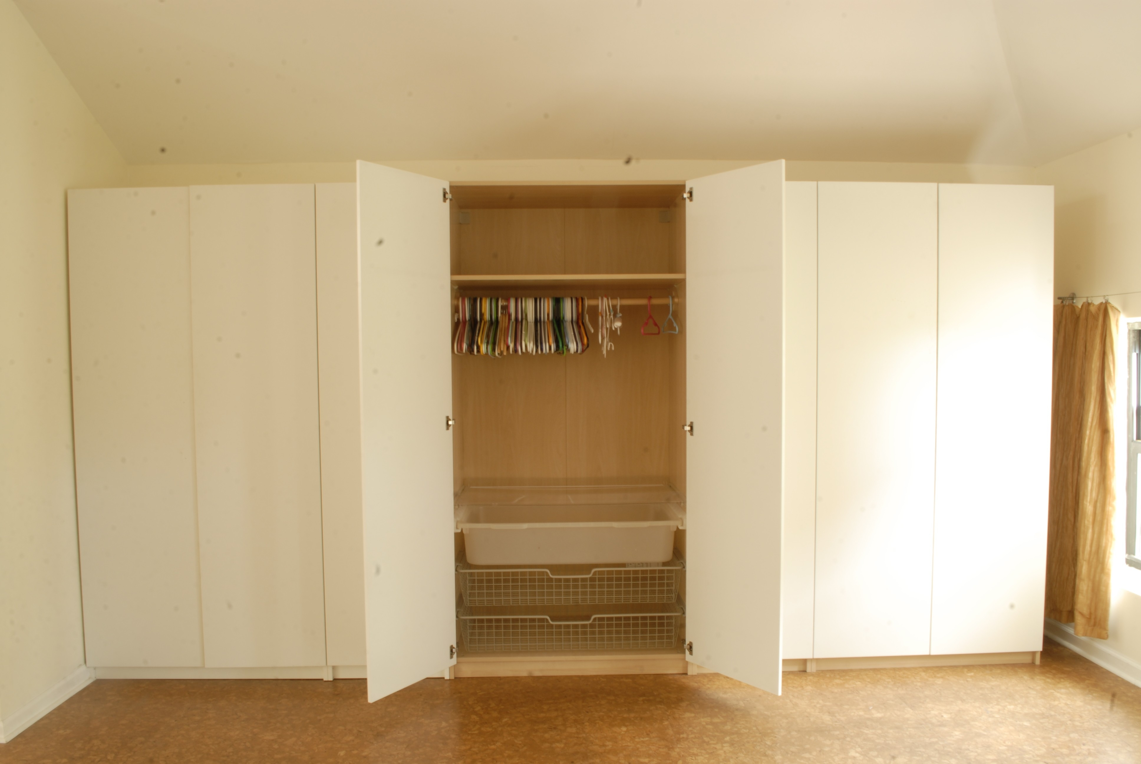 Clothing Storage Cabinets With Doors