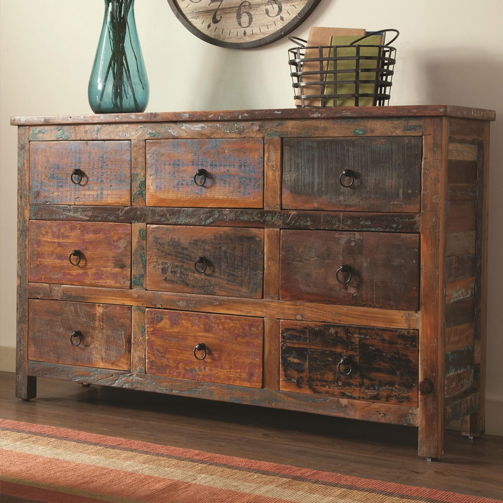 Storage Console Table Cabinet