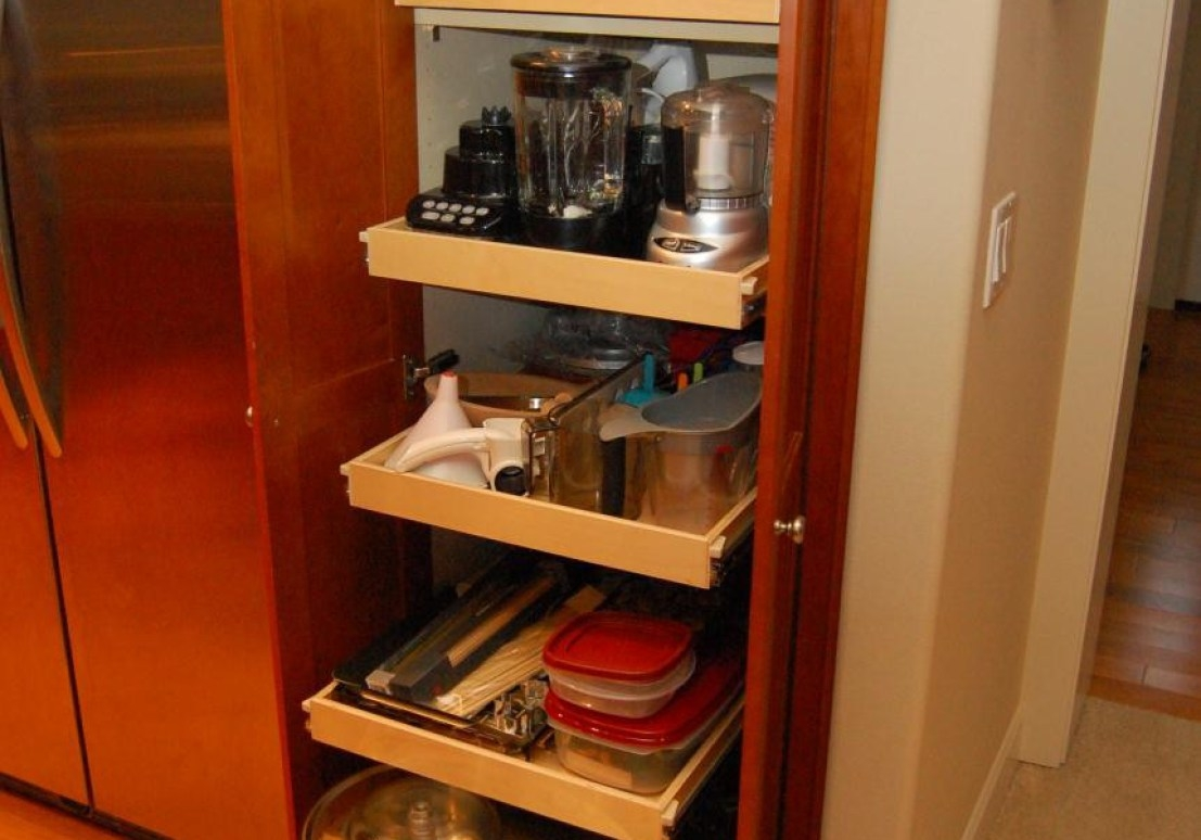 Assembled Wood Storage Cabinets