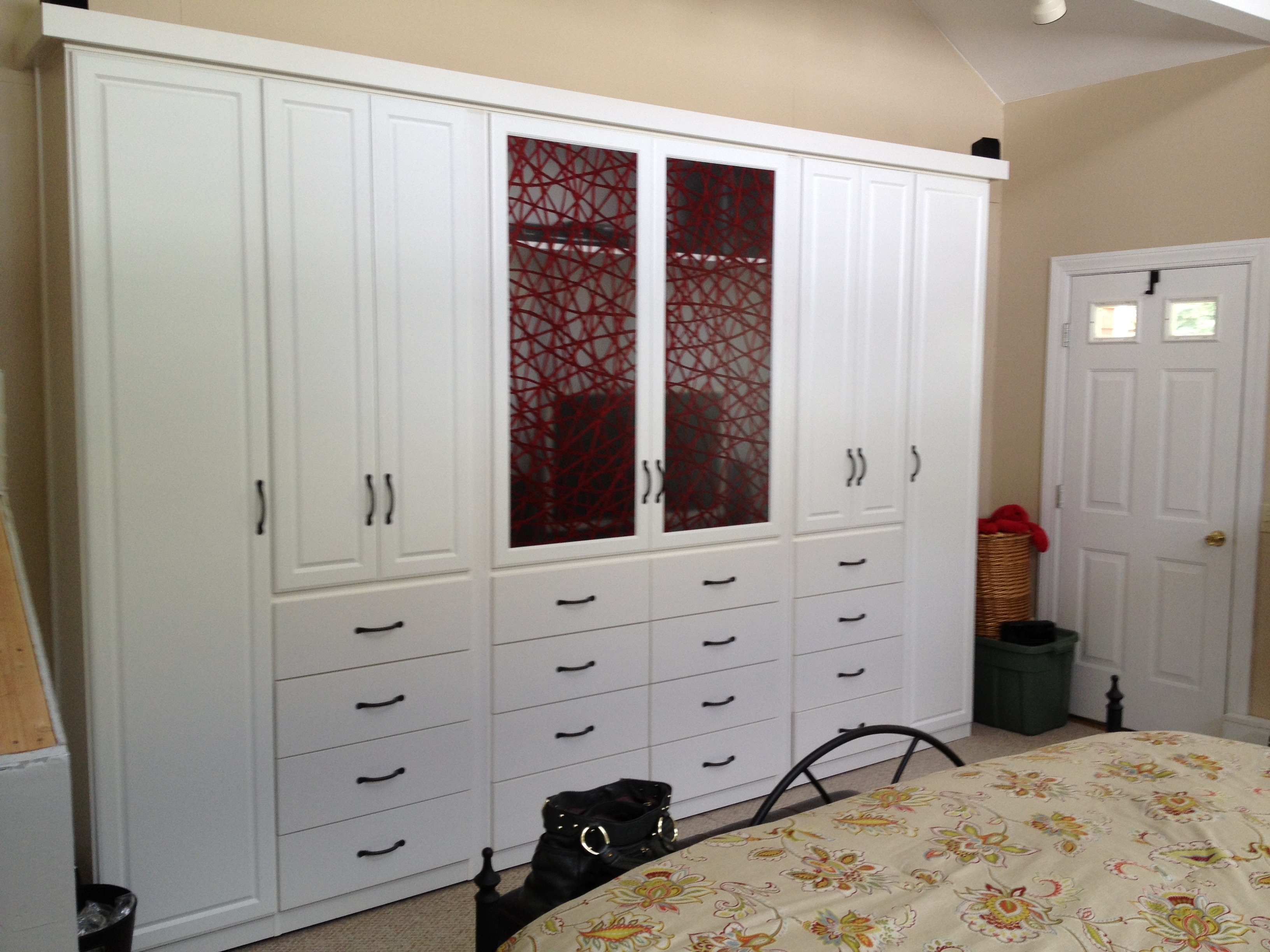 Bedroom Storage Cabinet With Mirror