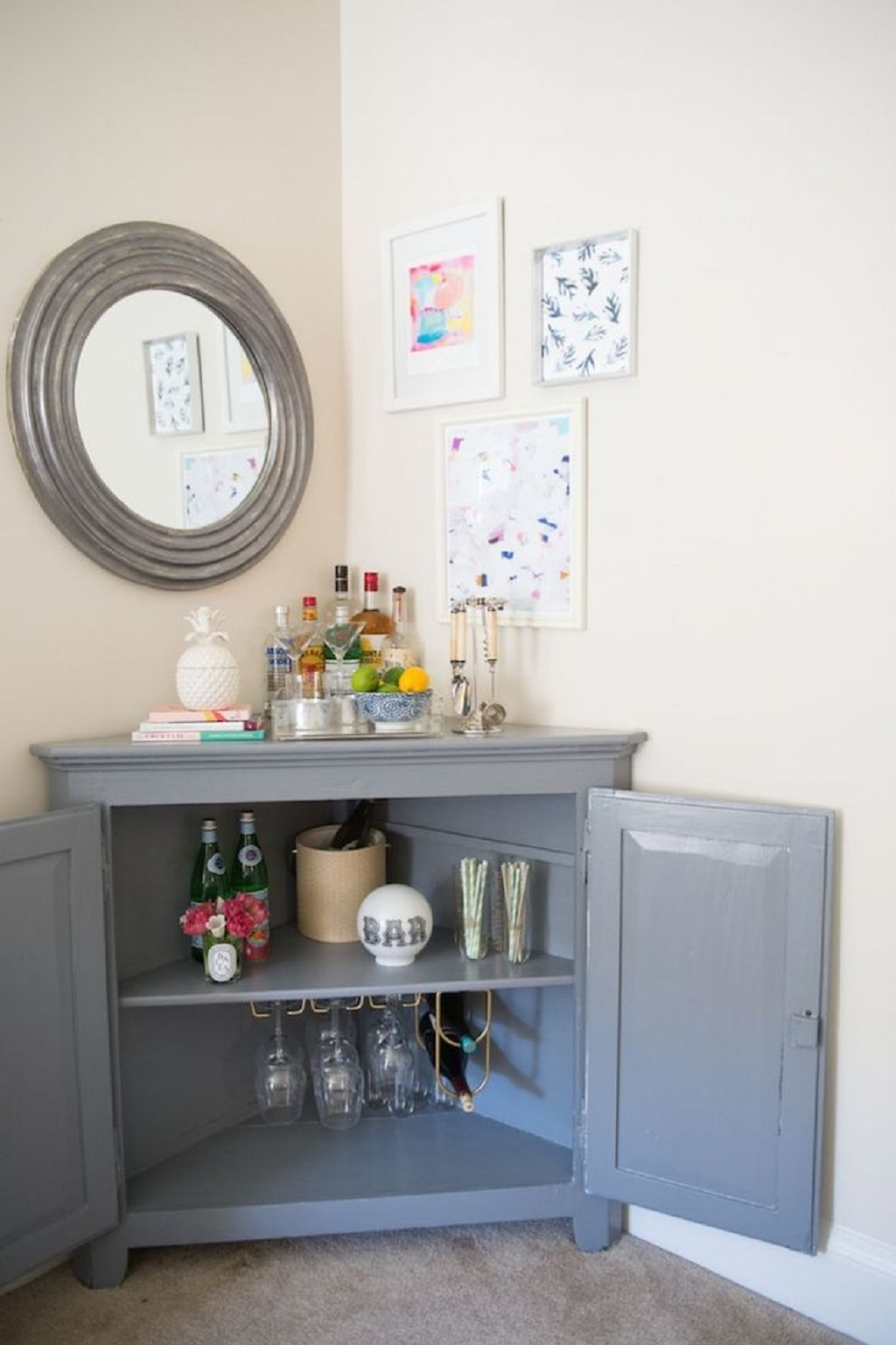 Beer Bottle Storage Cabinetbrilliant corner cabinet for living room ideas that functioned as