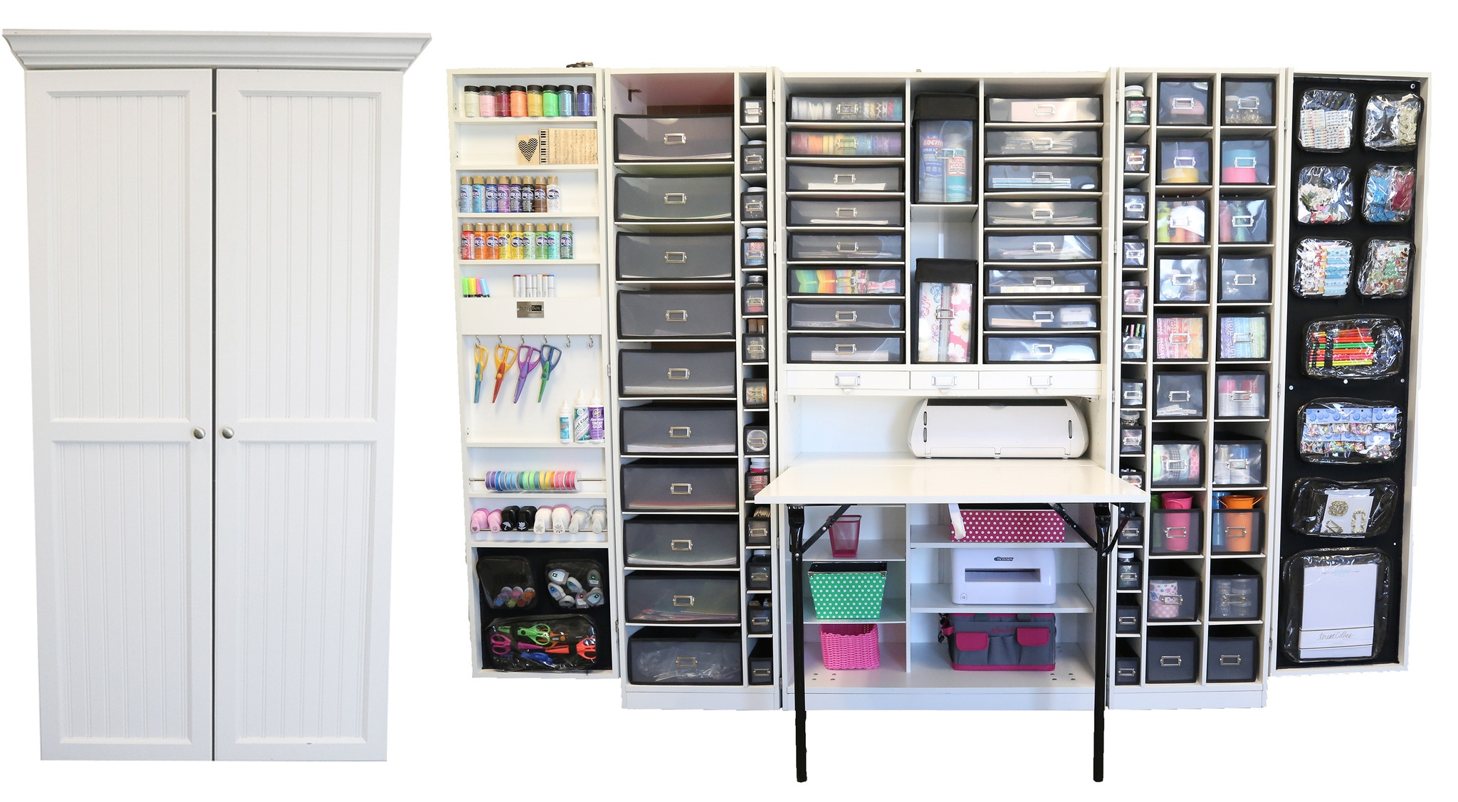 Craft Storage Cabinet Furniture