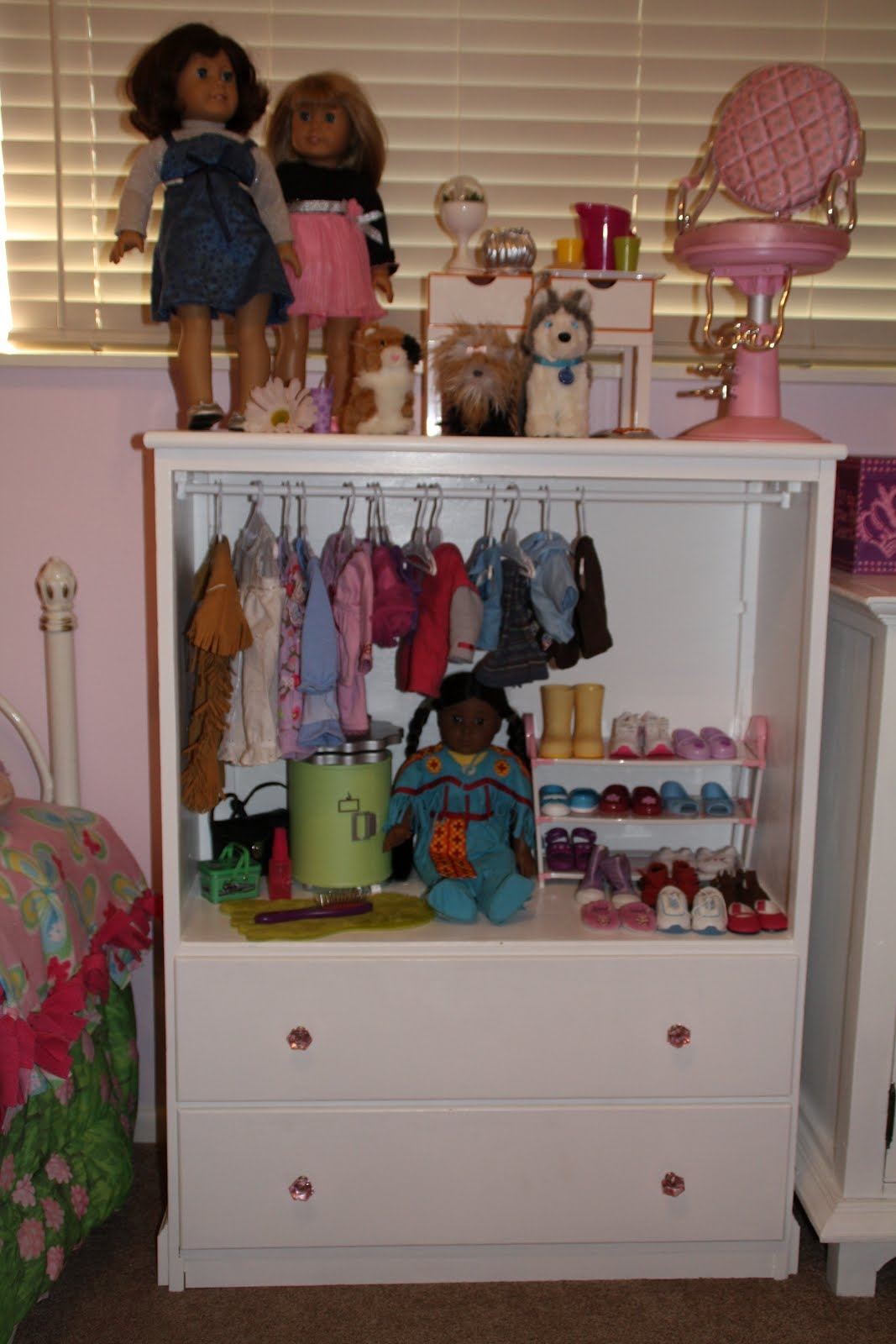 Permalink to Doll Clothing Storage Cabinet