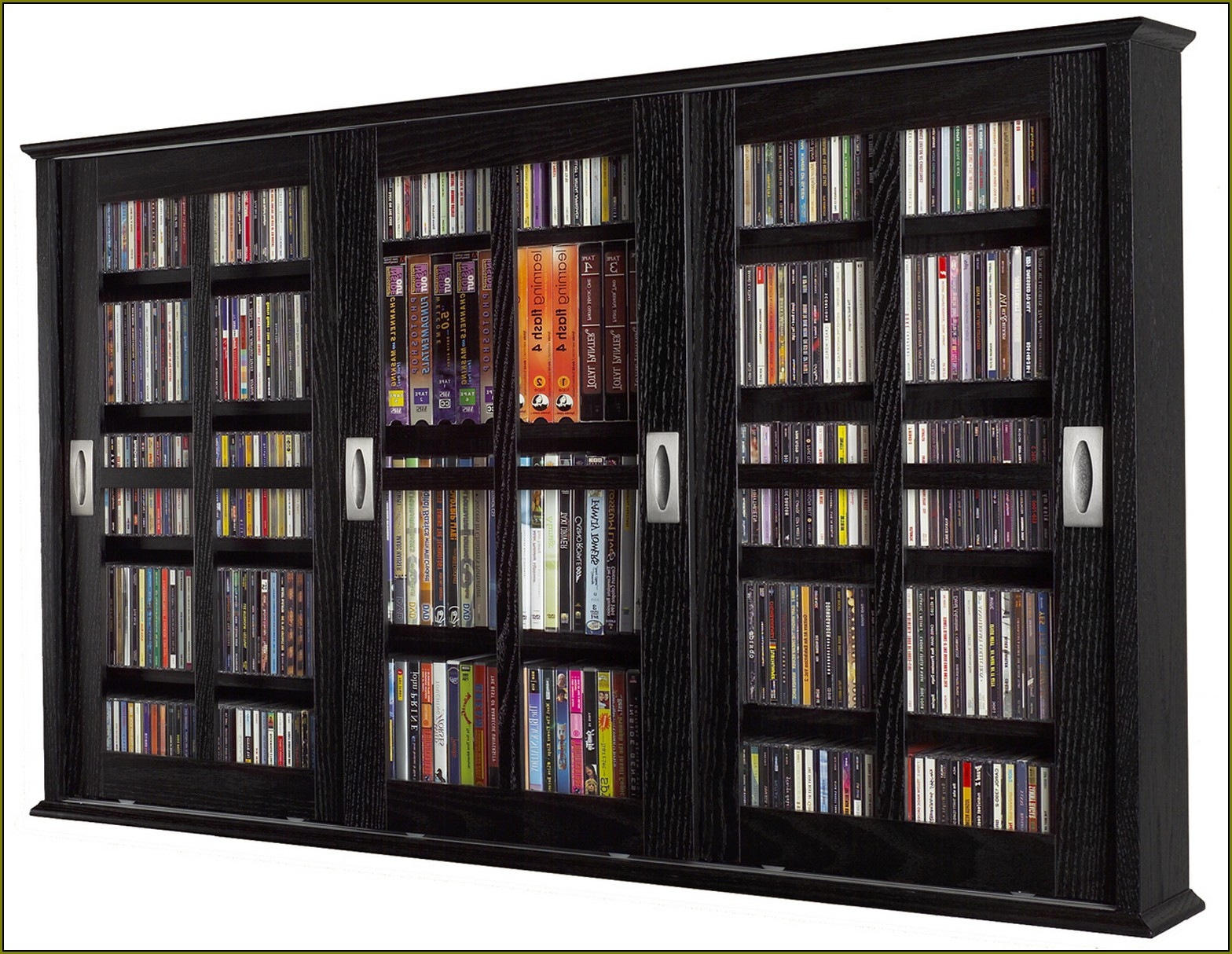 Dvd Storage Cabinets With Glass Doors