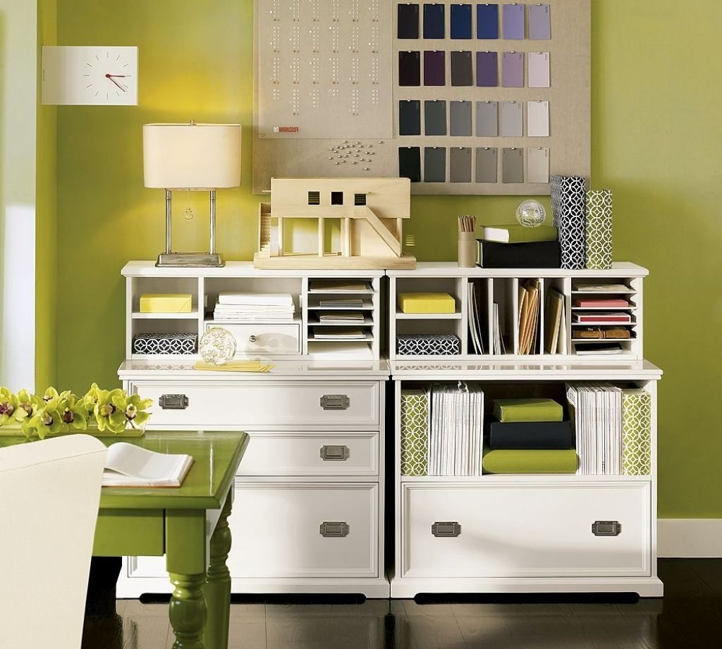 Family Room Storage Cabinets