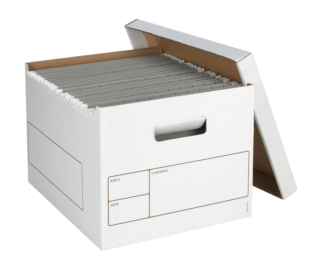 Filing Cabinet Storage Boxes