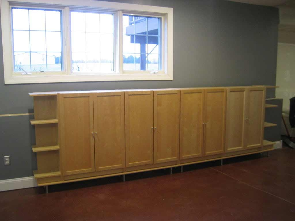 Permalink to Finished Basement Storage Cabinets