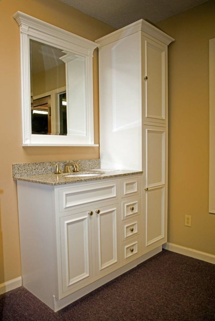 Floor To Ceiling Bathroom Storage Cabinets