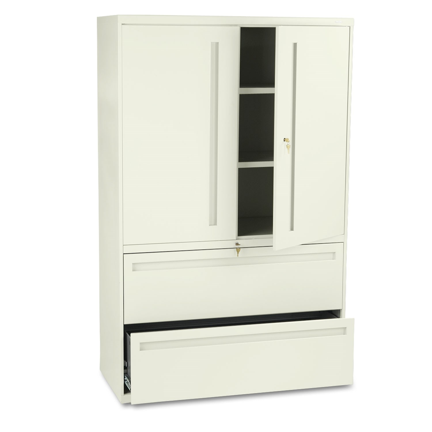 Hon 700 Series Lateral File With Storage Cabinethon industries hon795ls 700 series 42 lateral file with storage