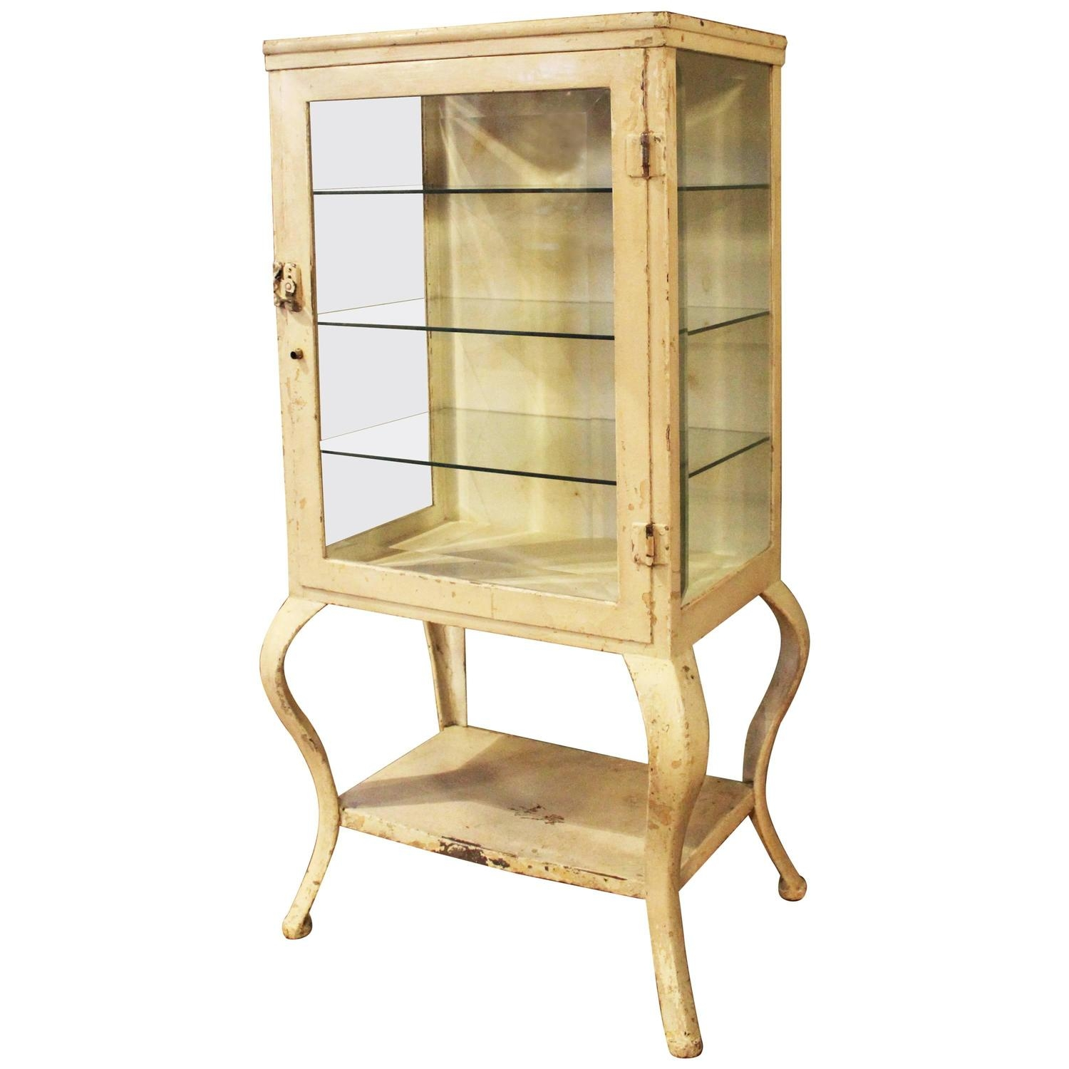 Metal Apothecary Storage Cabinet