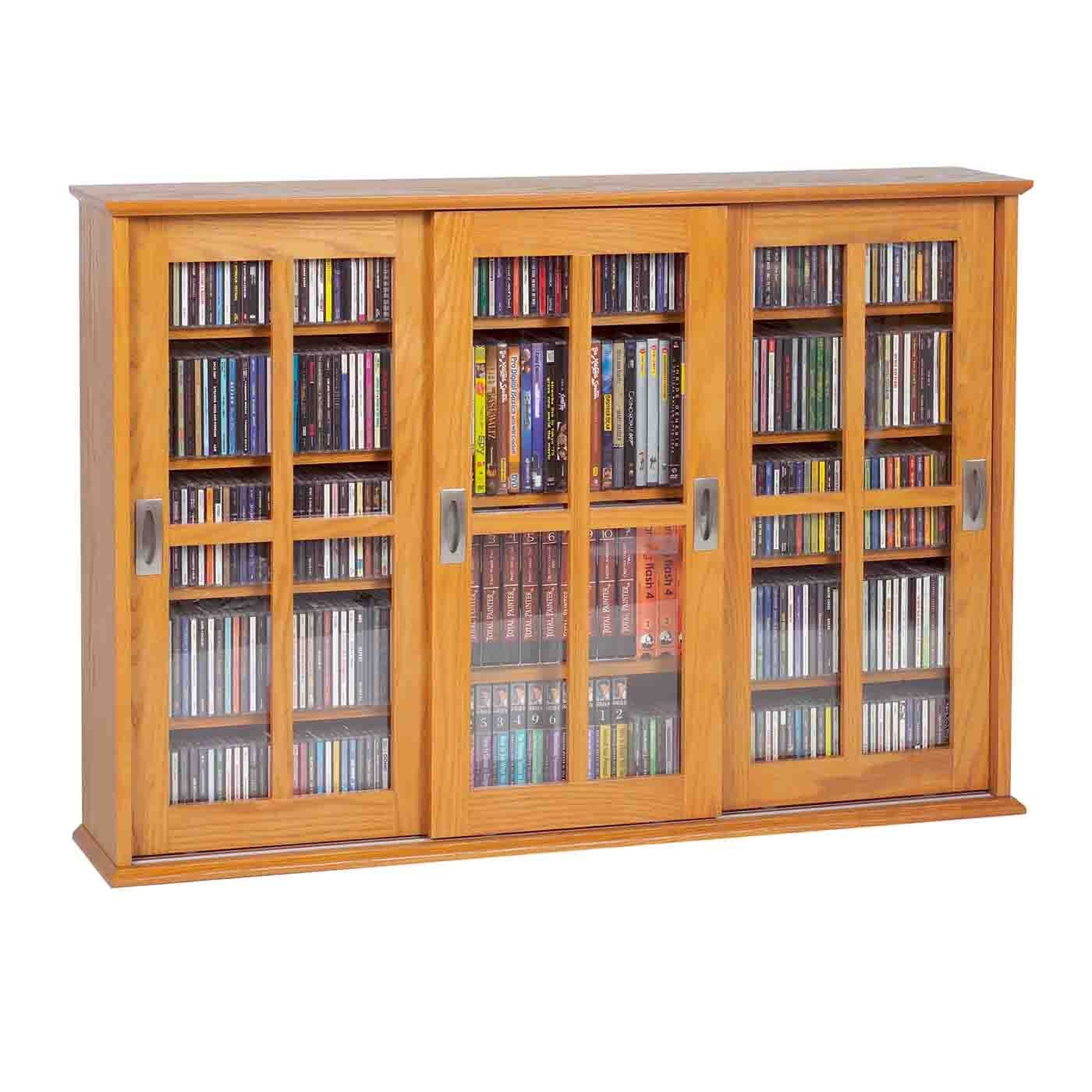 Mission Style Cd Storage Cabinet