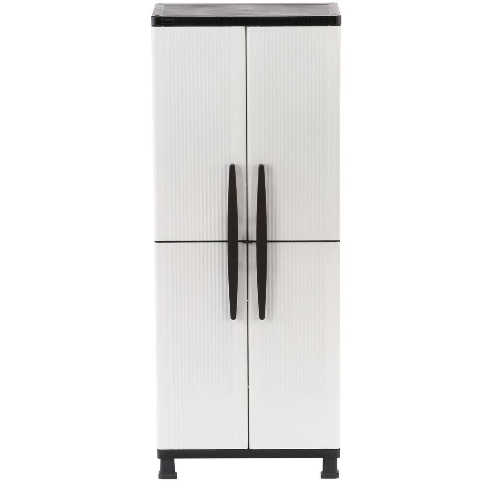 Plastic Storage Cabinet With Shelves And Doors