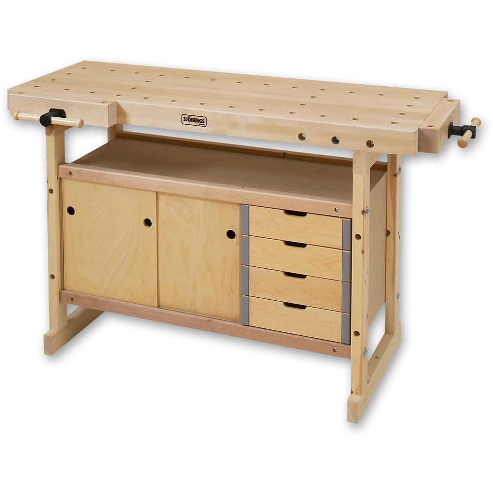 Permalink to Sjobergs Nordic Bench Storage Cabinet