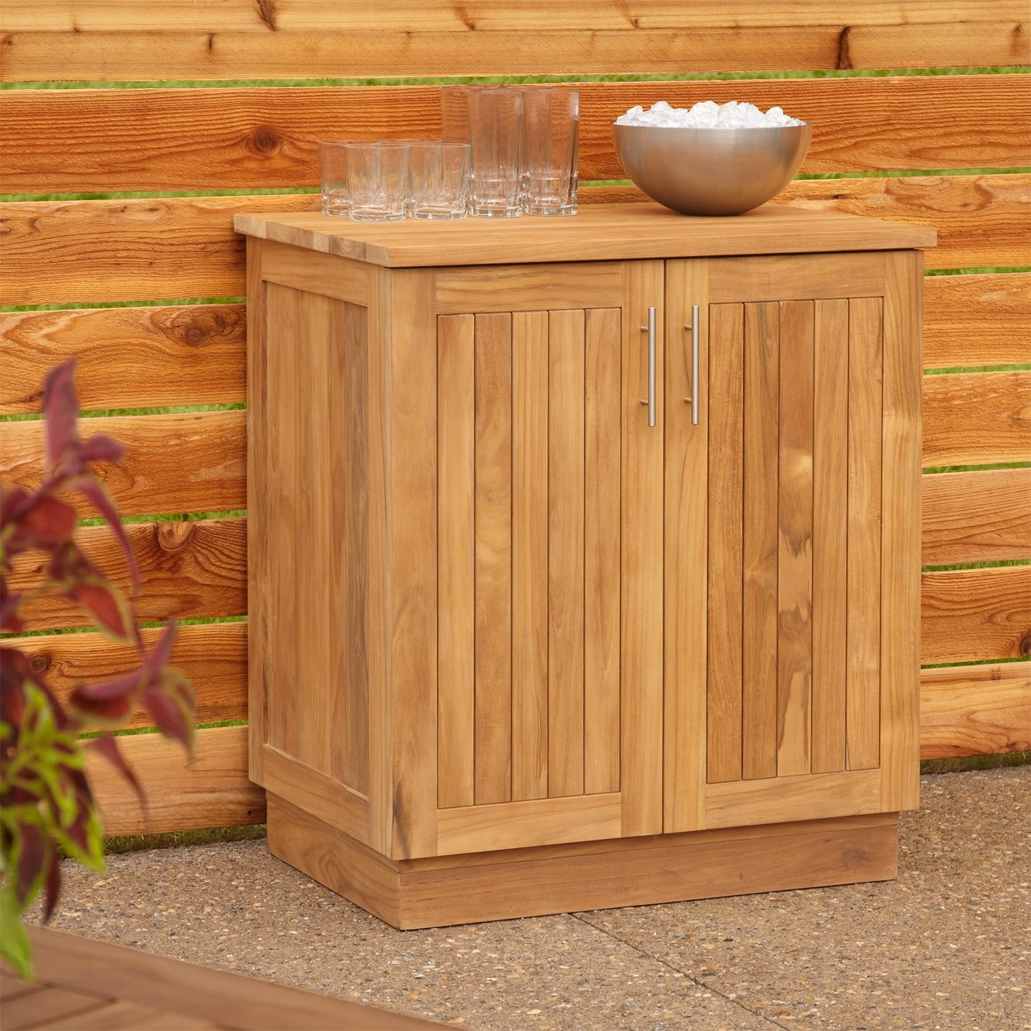 Teak Storage Cabinet Outdoor